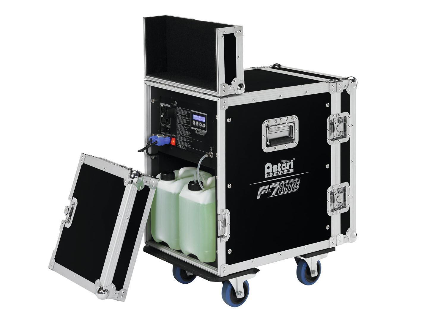 Macchina del fumo Nebbia professionale con flightcase DMX 1500 watt F-7 Antari