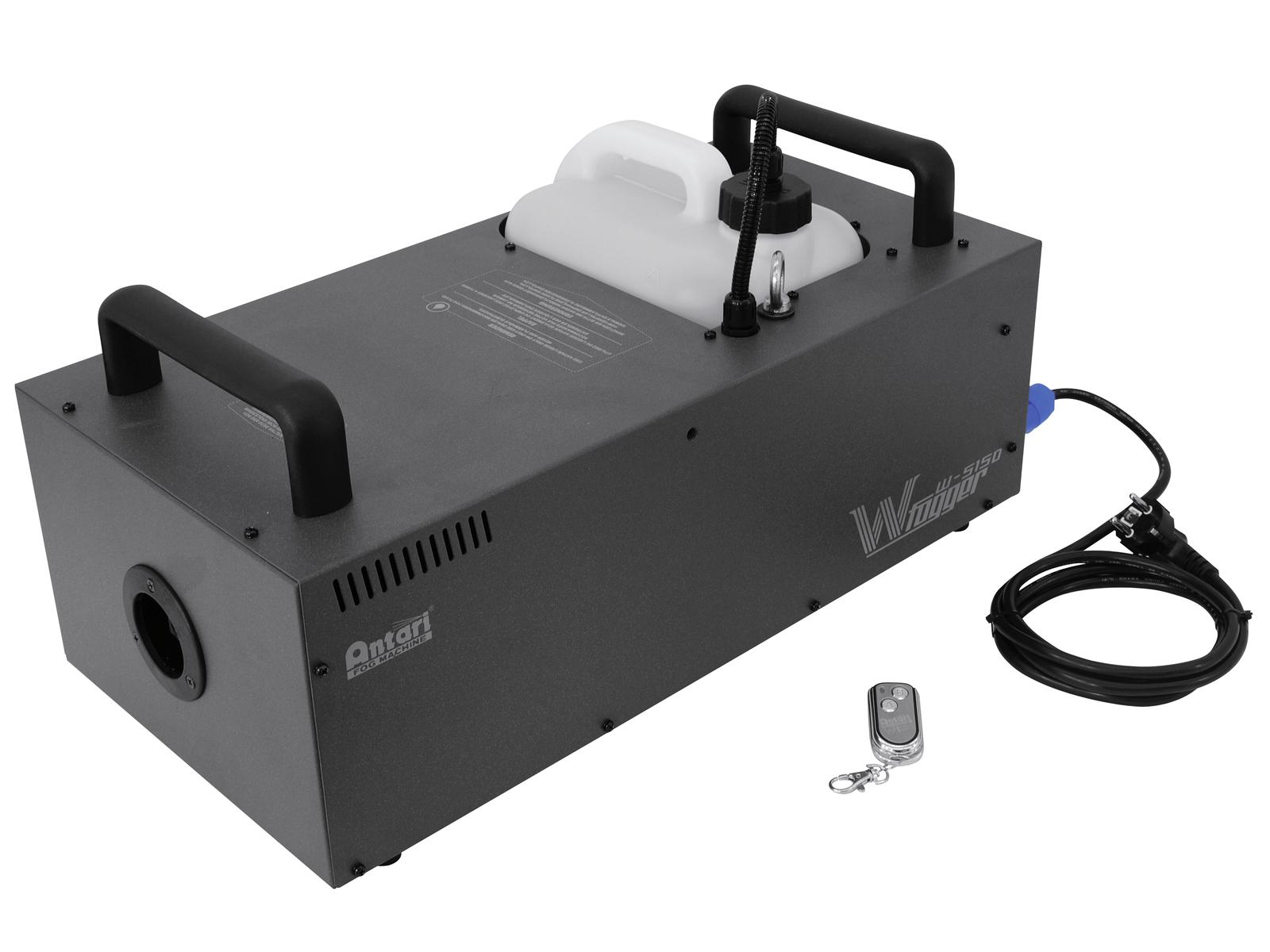 Macchina del fumo-nebbia alte prestazioni DMX, wireless, 1500 W ANTARI W-515D