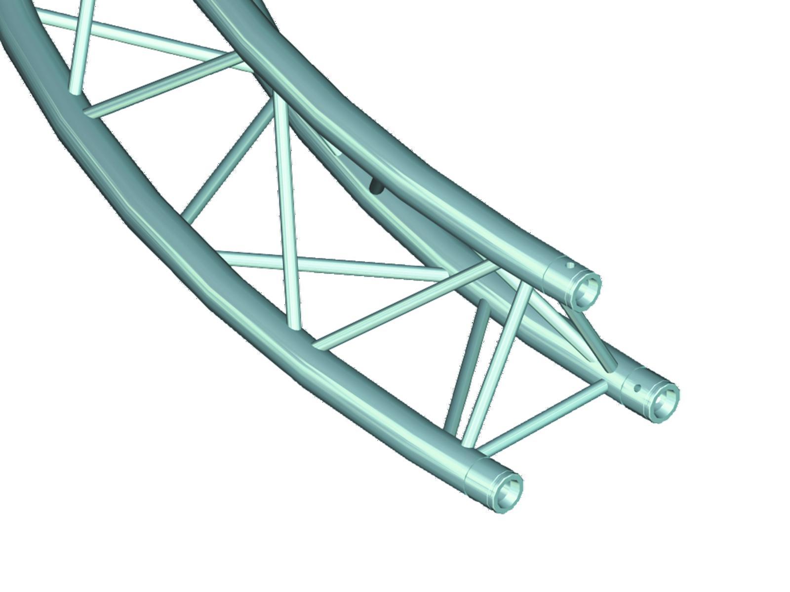 ALUTRUSS TRILOCK 6082 cerchio d=3m (interno) /\