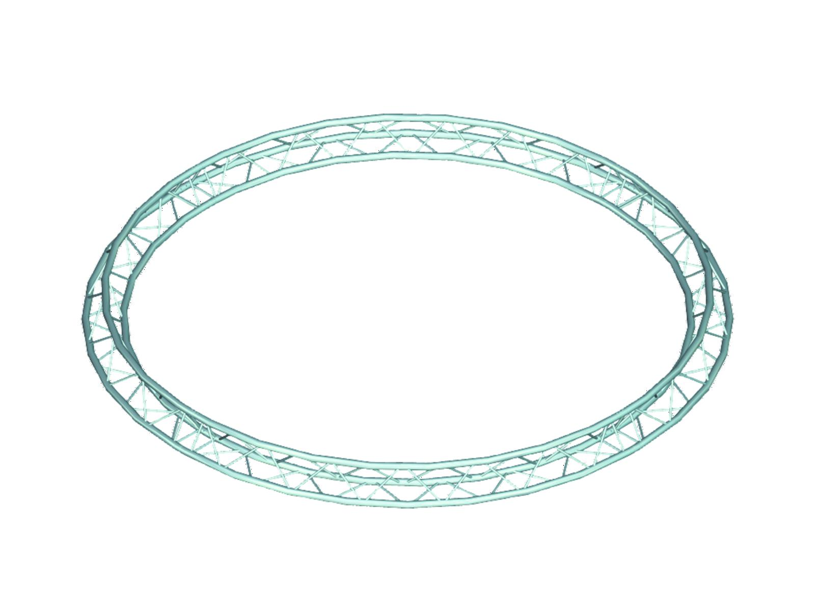 ALUTRUSS TRILOCK 6082 cerchio d=3m (all'interno) <