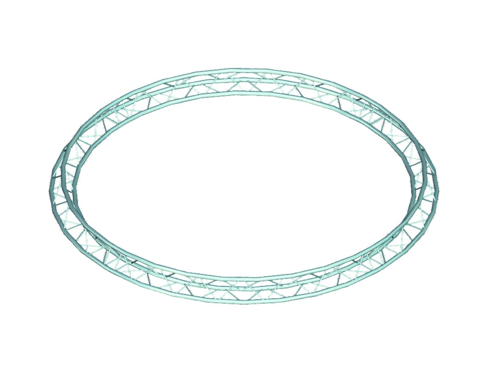 ALUTRUSS TRILOCK 6082 cerchio d=7m
