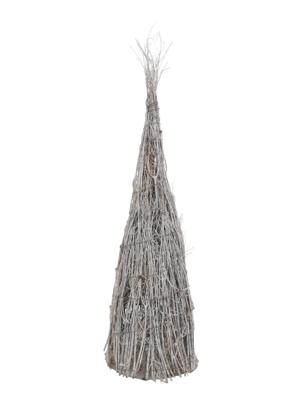EUROPALMS Piramide, colore bianco-lavaggio, ca.90cm