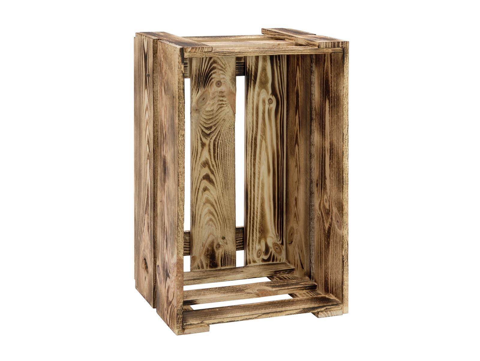 Cassa Cassetta in legno Laccato Fiammato EUROPALMS