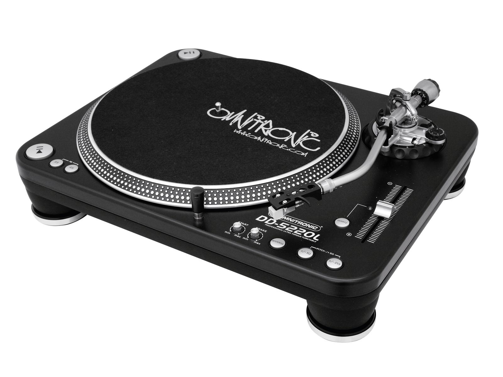 Turntable Platter direct drive OMNITRONIC DD-5220L