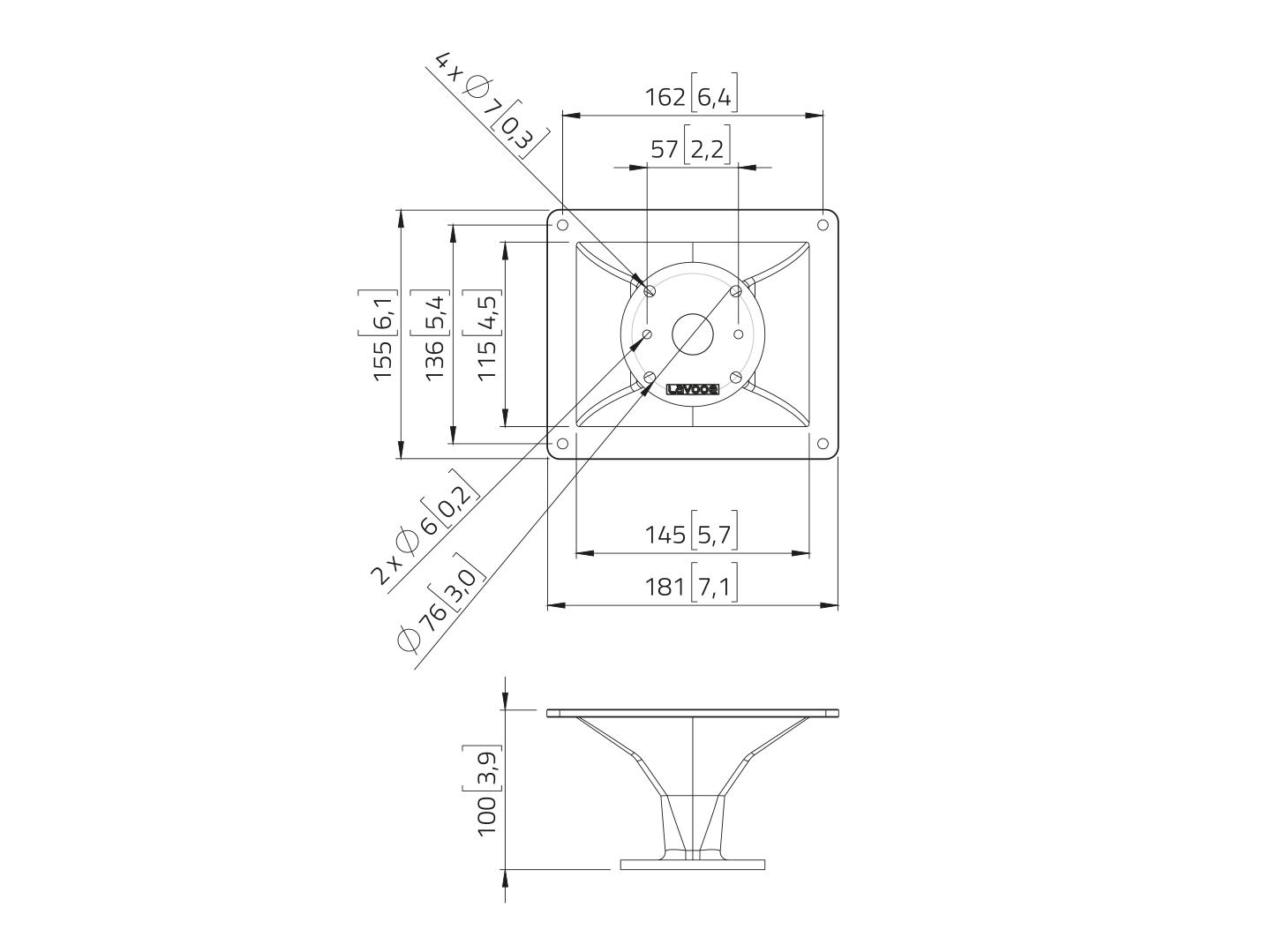 LAVOCE HD1004 1 Aluminiumhorn