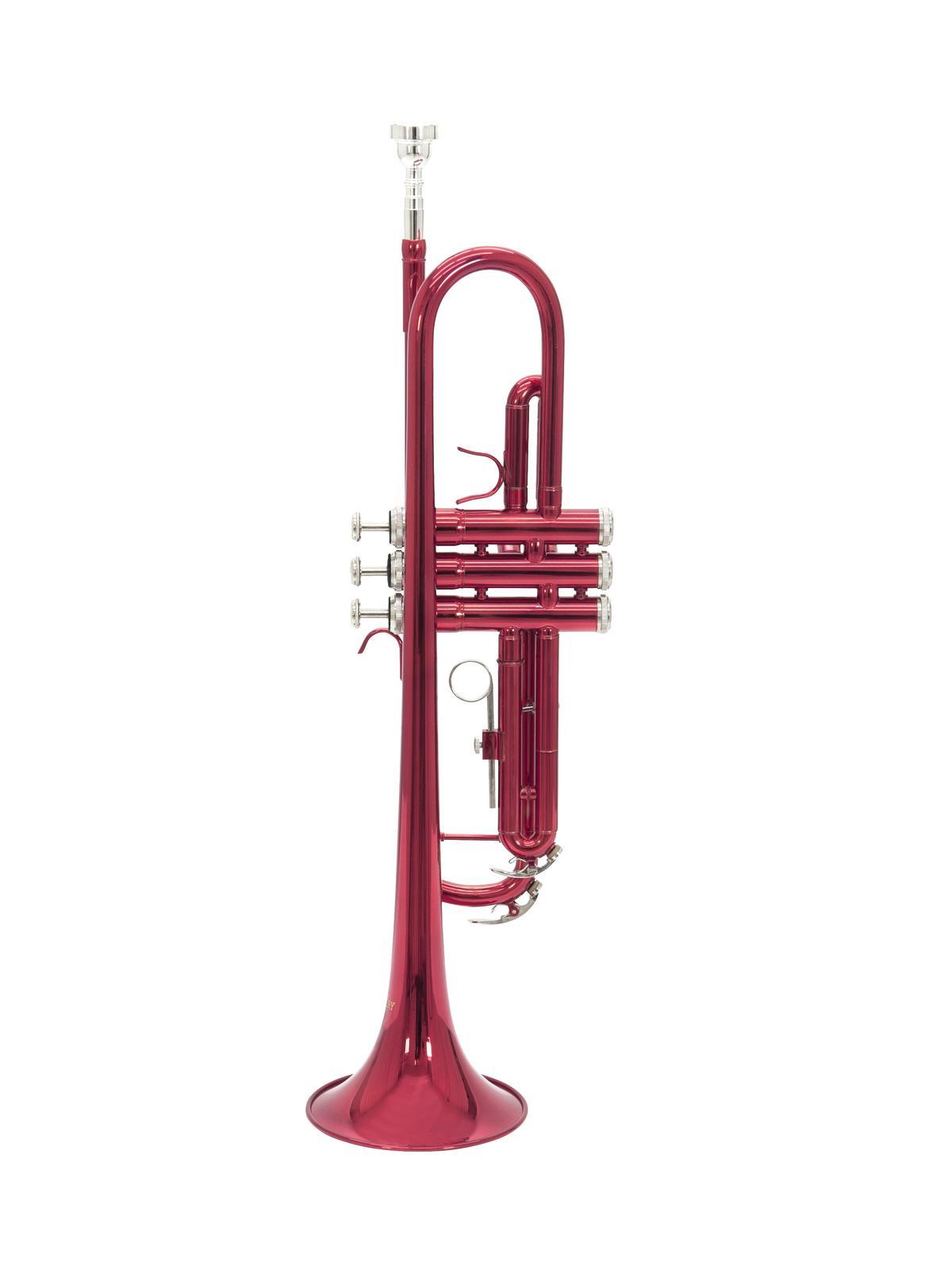 DIMAVERY TP-10 B-Trompete, rot