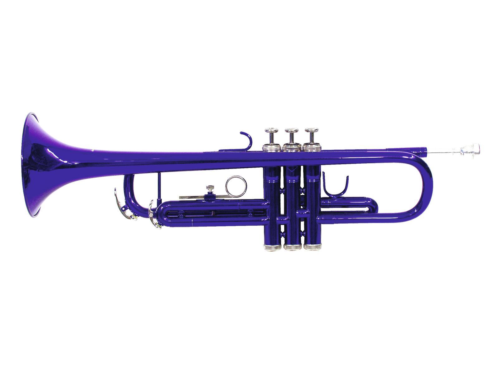 DIMAVERY TP-10 B-Trompete, blau