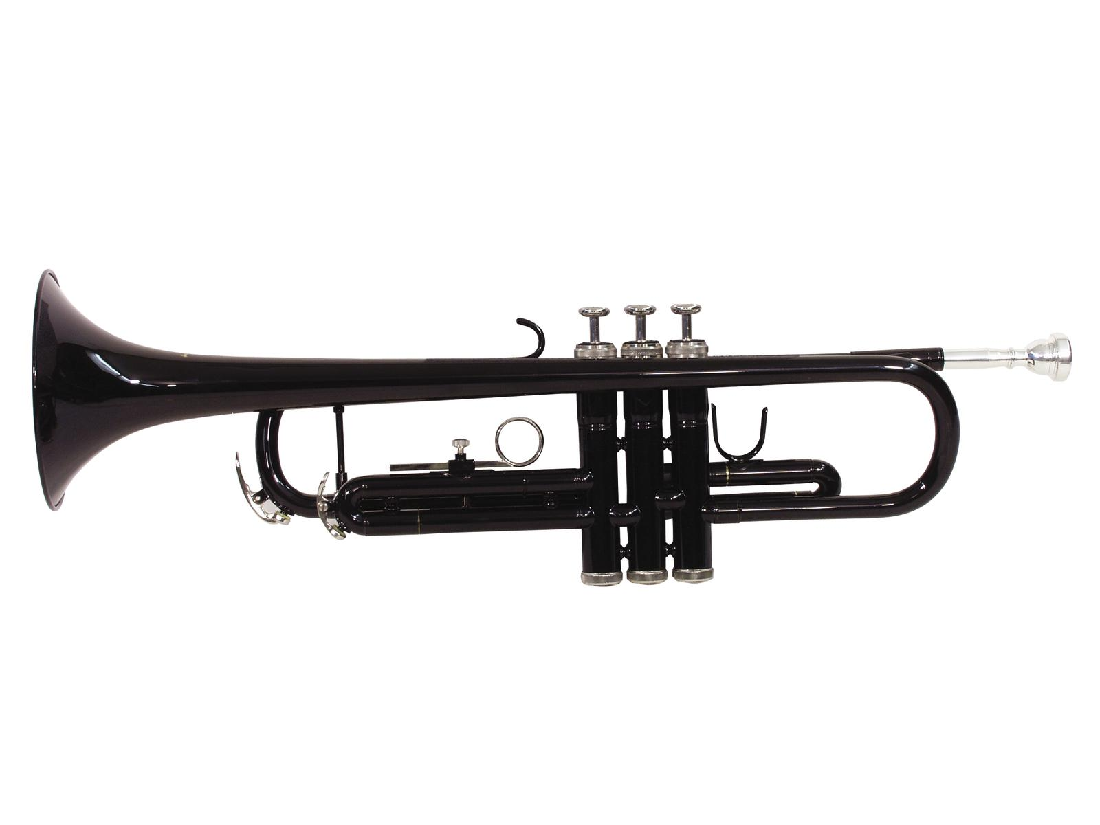 Tromba in Sib, colore nero, DIMAVERY TP-10