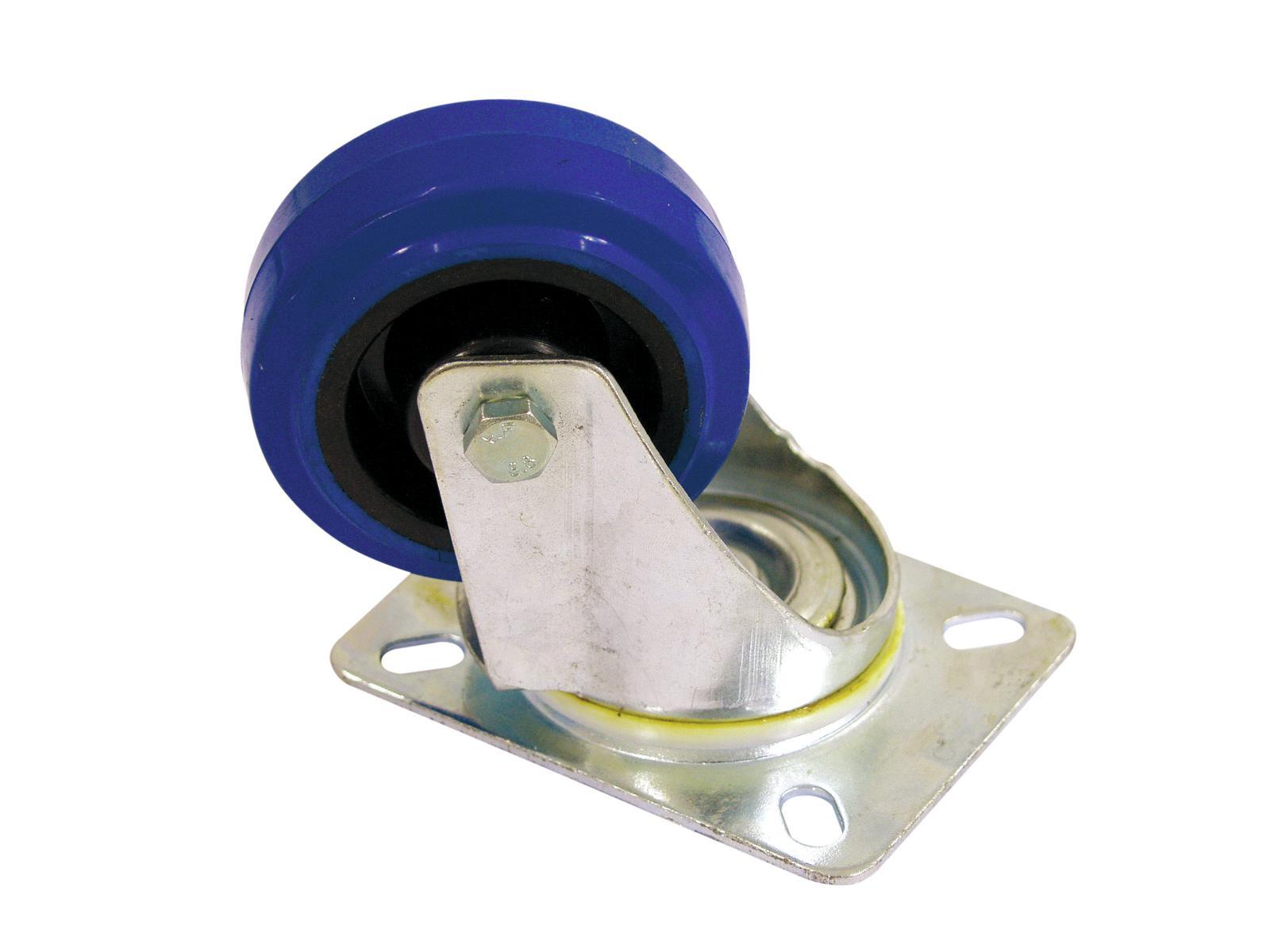 ROADINGER Lenkrolle 80mm blau