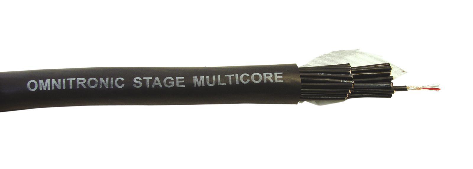 OMNITRONIC Multicore 24x2x0,12 100m