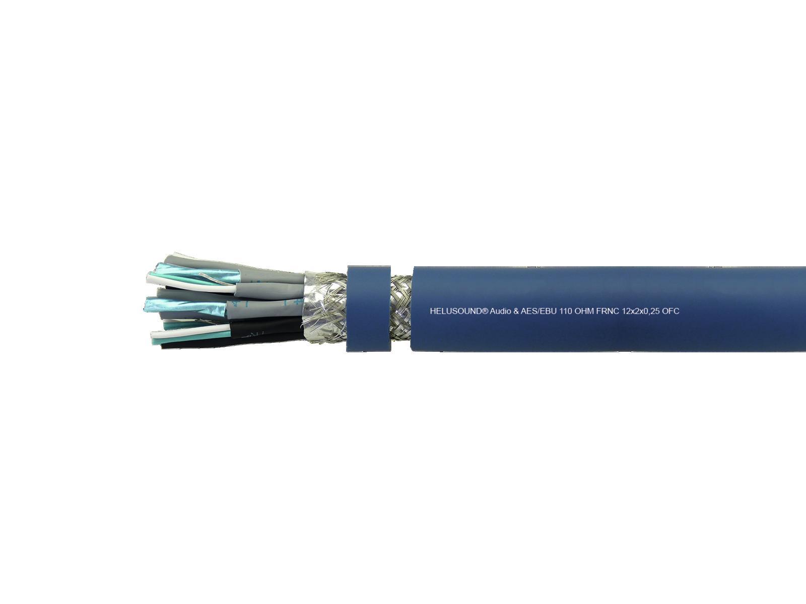 HELUKABEL Audiokabel 12x2x0,25 AES/EBU 100m