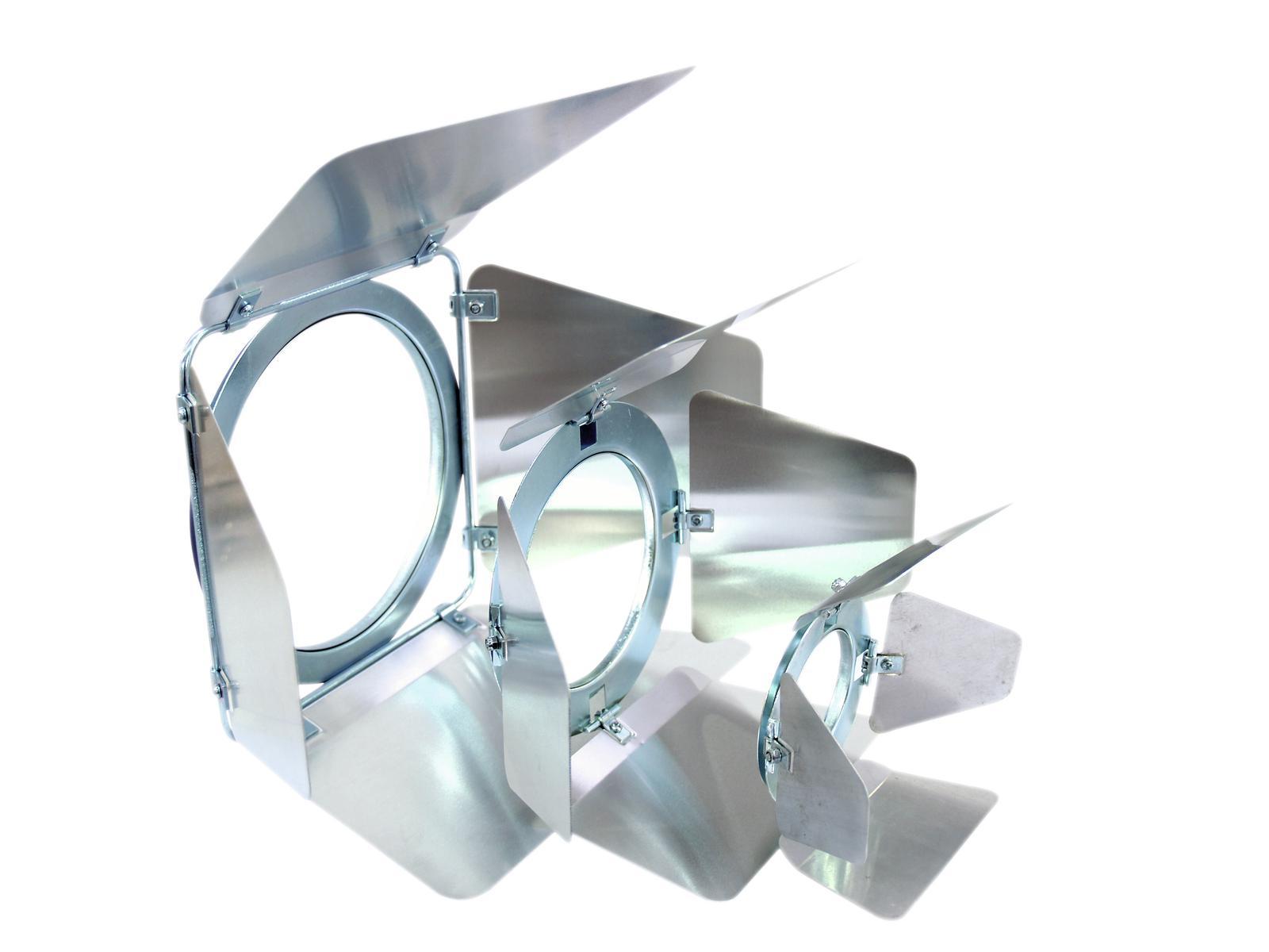 EUROLITE alette paraluce PAR-30 Spot argento