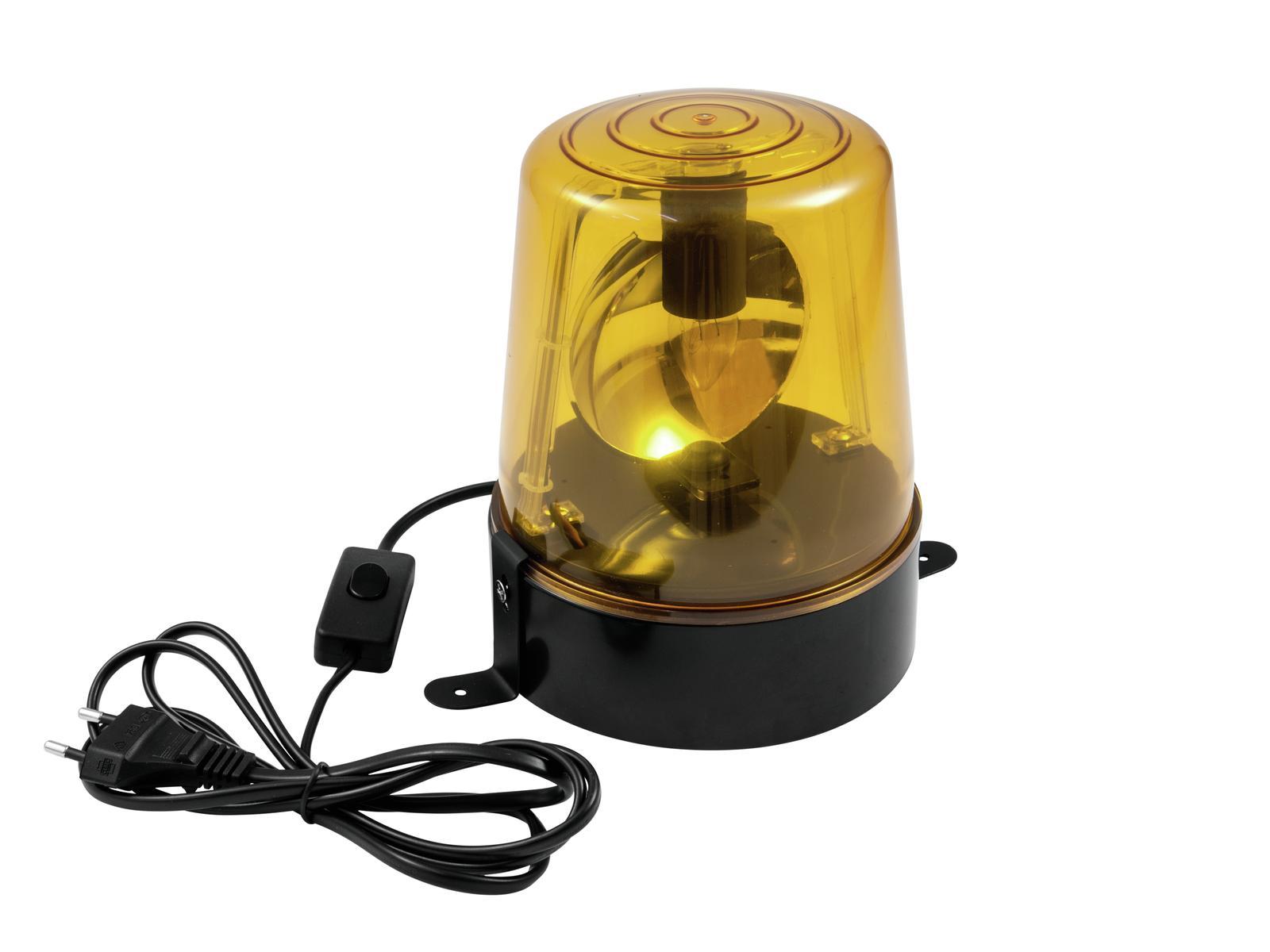 EUROLITE Polizia di Luce DE-1 giallo