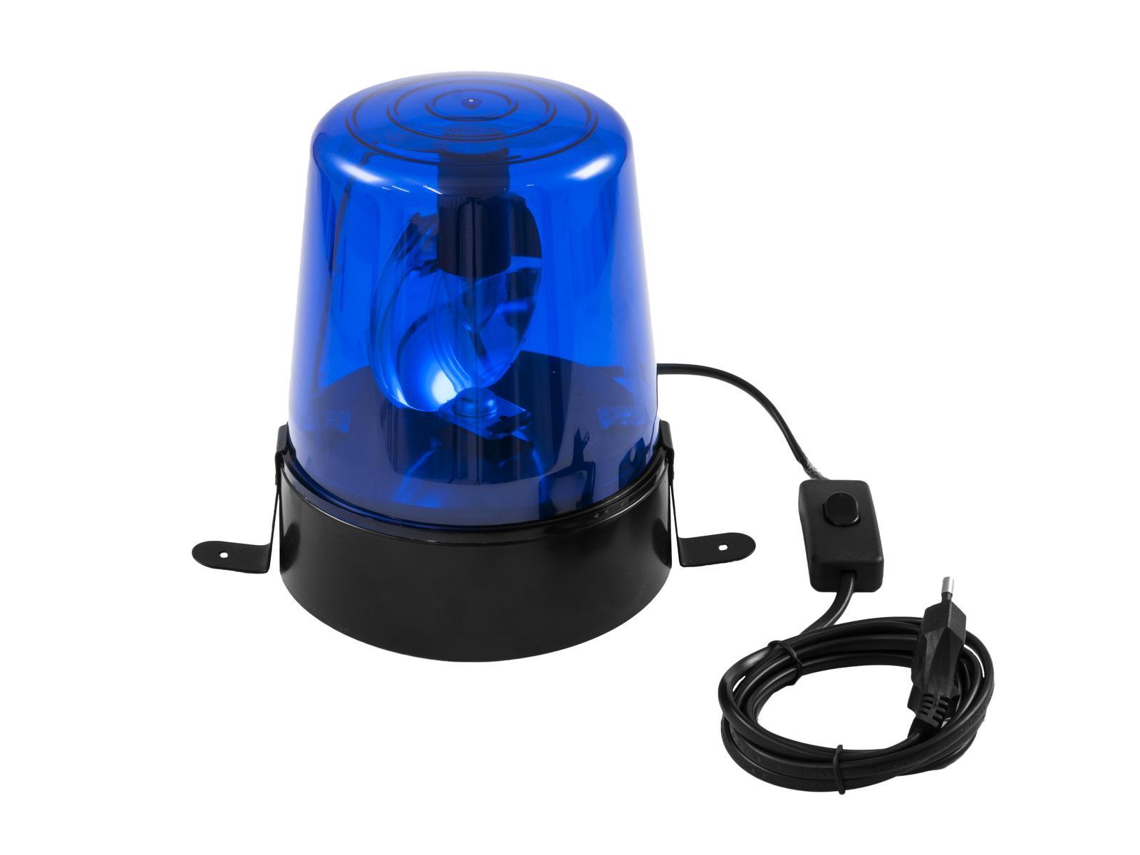 EUROLITE Polizeilicht DE-1 blau