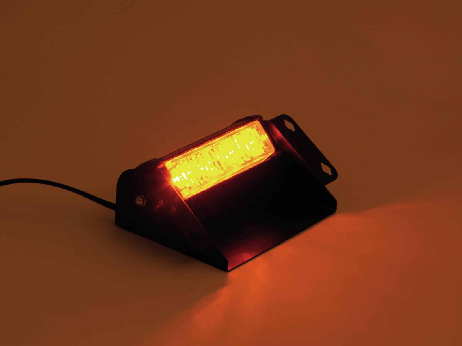 EUROLITE LED di Polizia Light PRO 12V ambra ad Alta Potenza