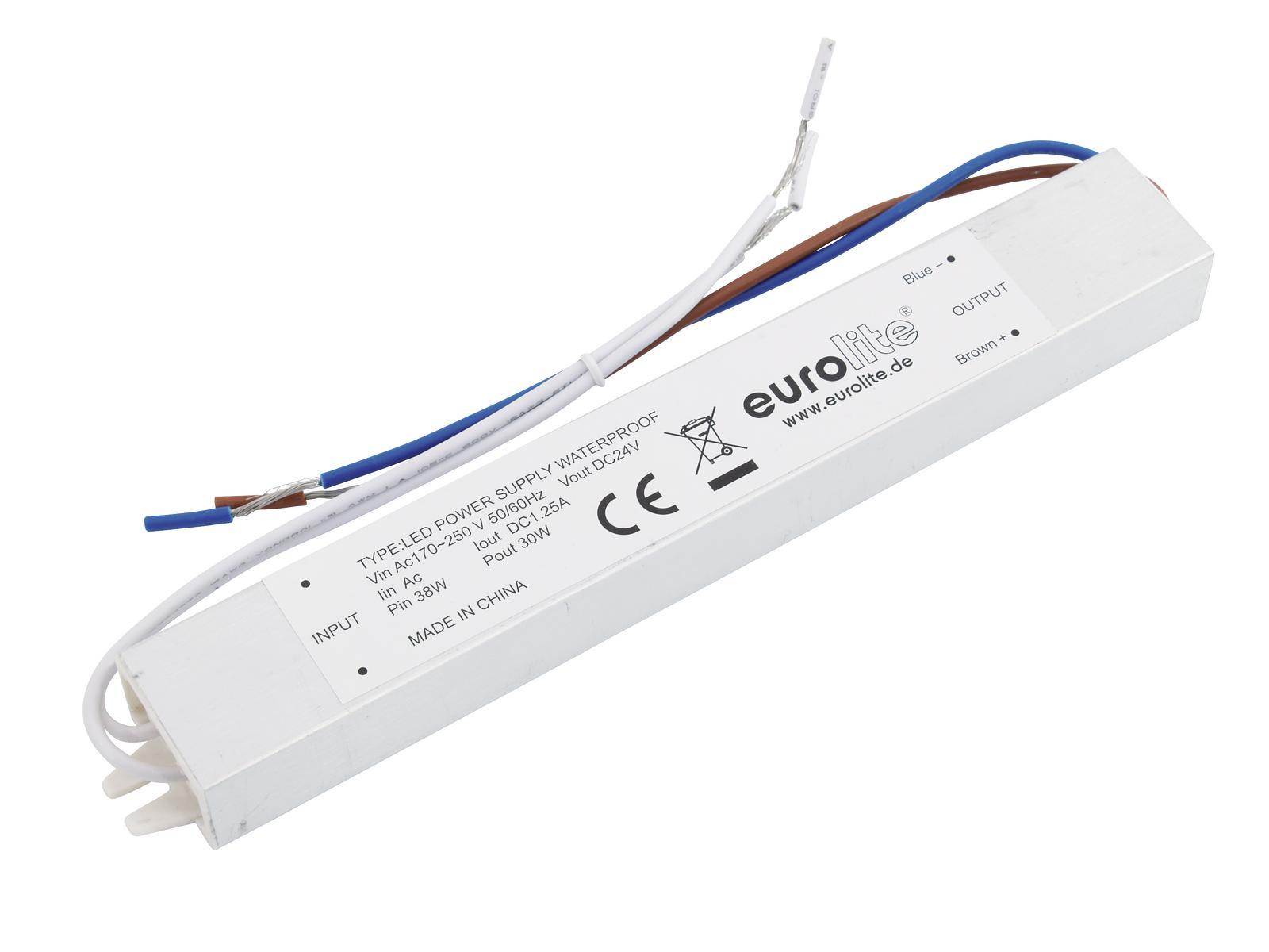Transformer EUROLITE for LED strips 24 V, 1.3 A