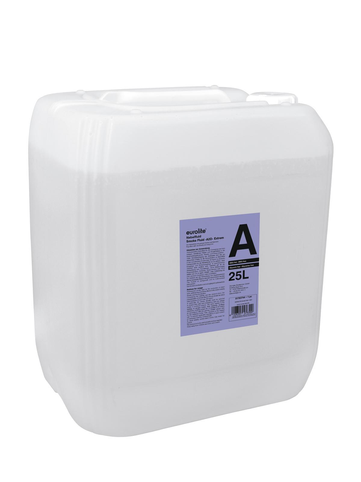 Liquido per macchina del fumo-nebbia 25 litri EUROLITE A2D