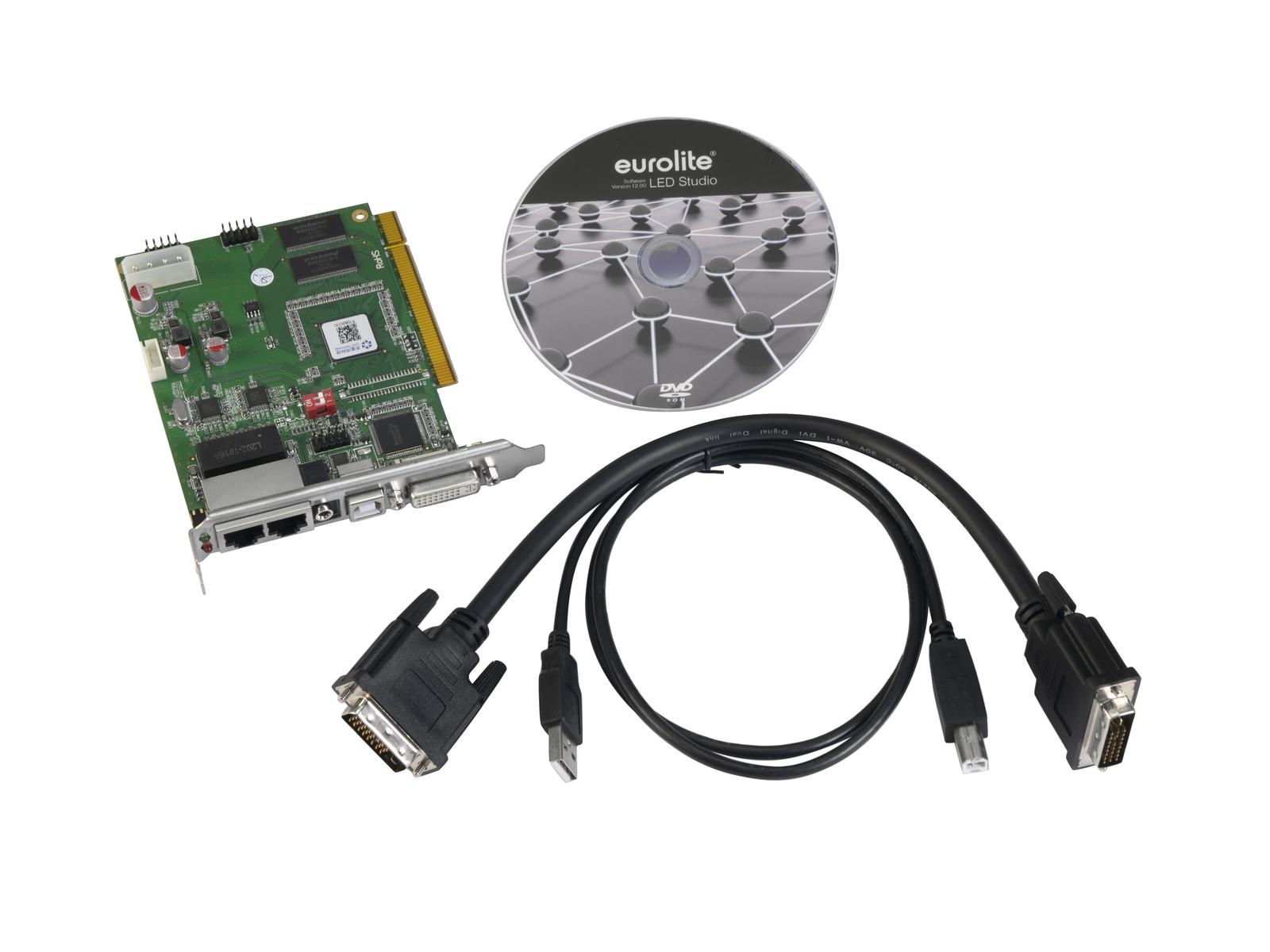 EUROLITE PCI-Senderkarte und Software