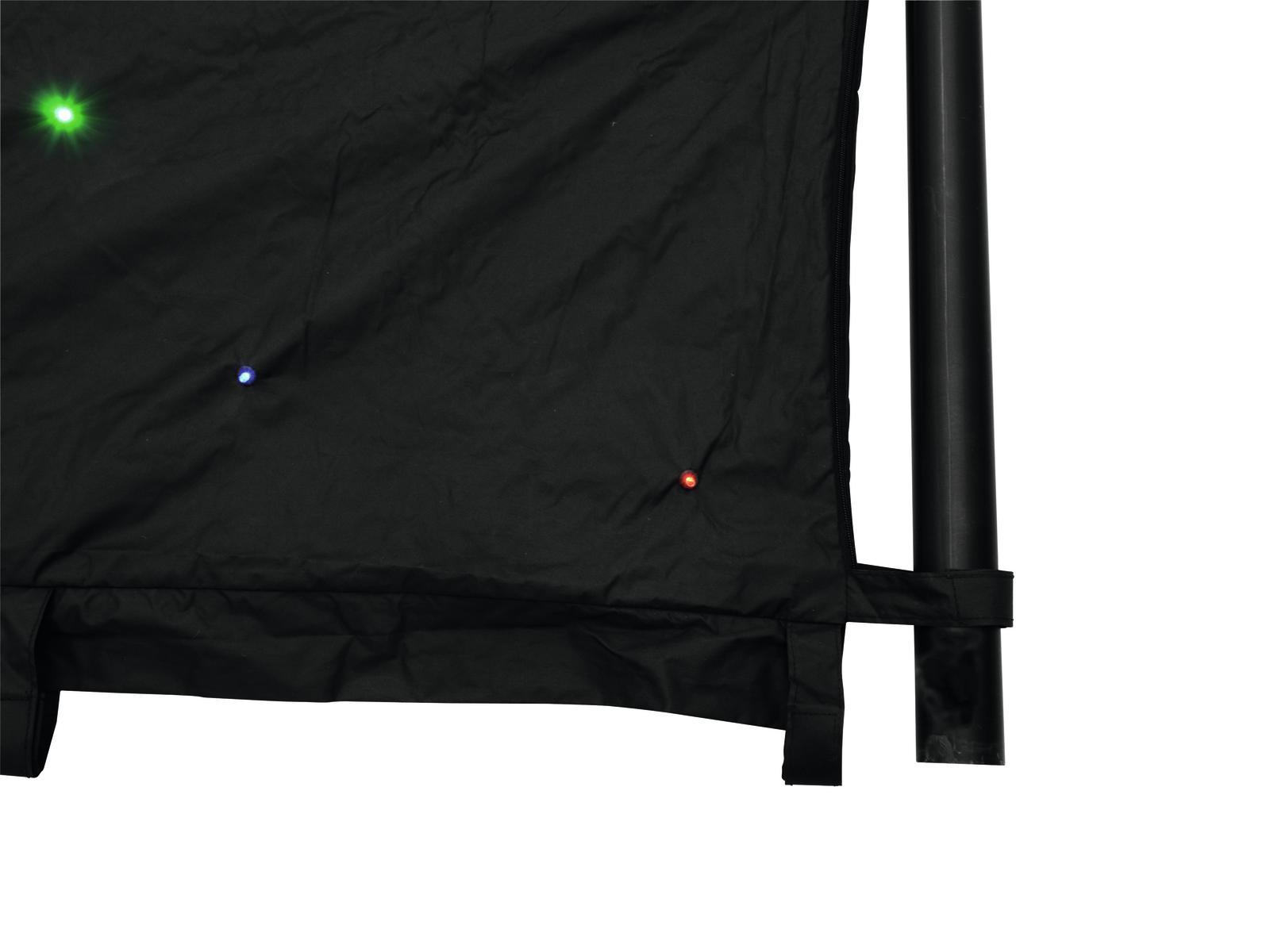EUROLITE CRT-190 LED della Tenda 6x4m
