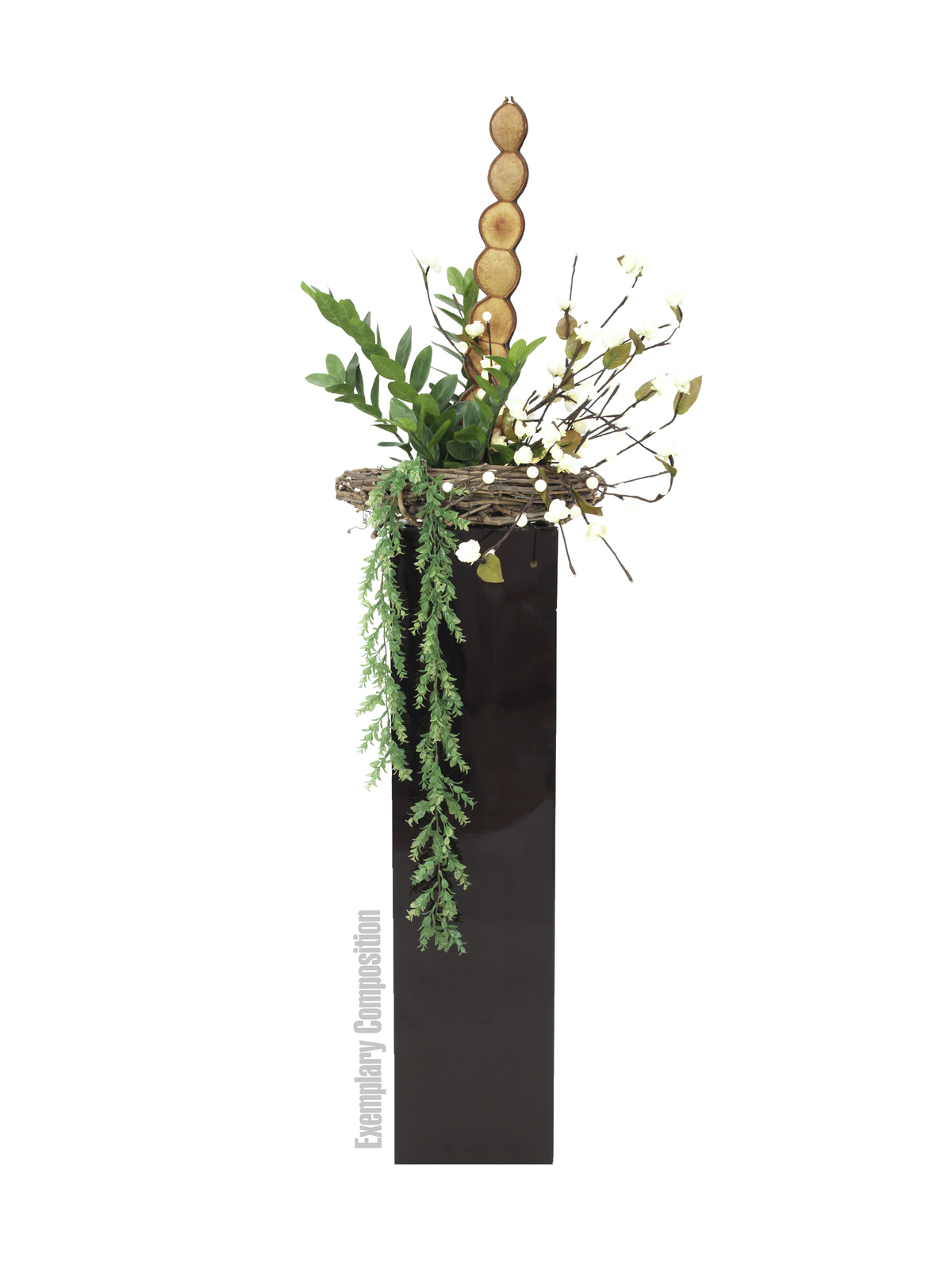 EUROPALMS Erba viticcio, luminoso verde-105cm
