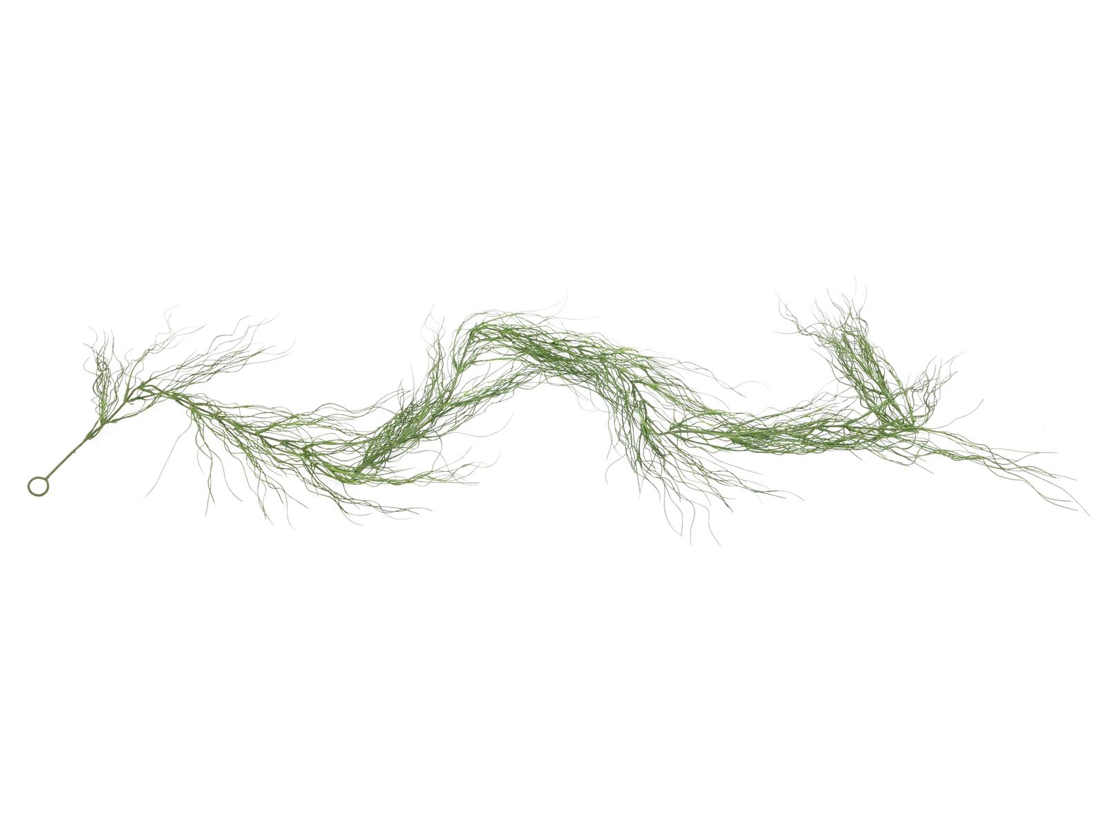 EUROPALMS Grasgirlande, künstlich, grün, 180cm