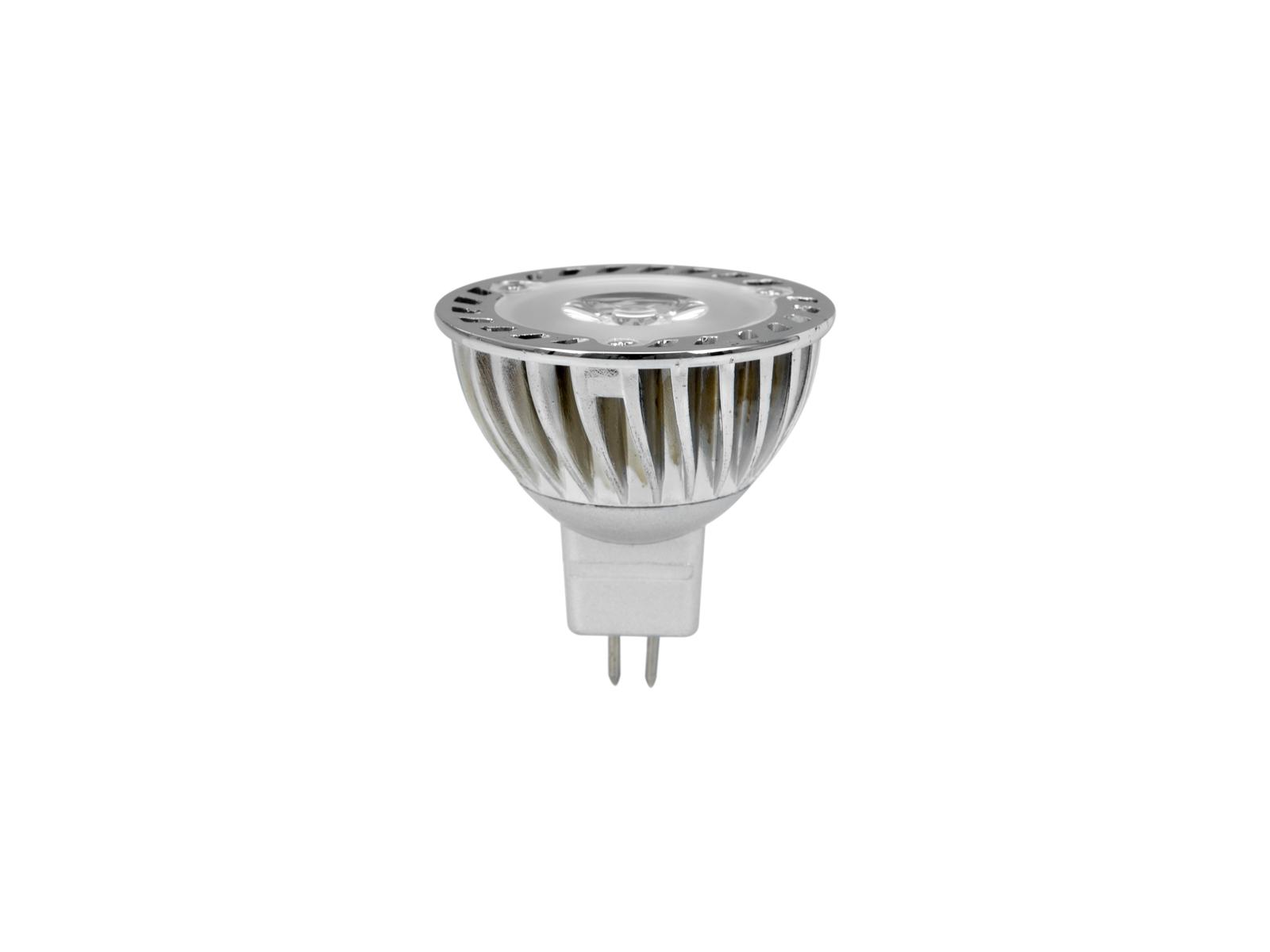 Lampada a led, luce verde MR-16 12V GU-5.3 3W OMNILUX