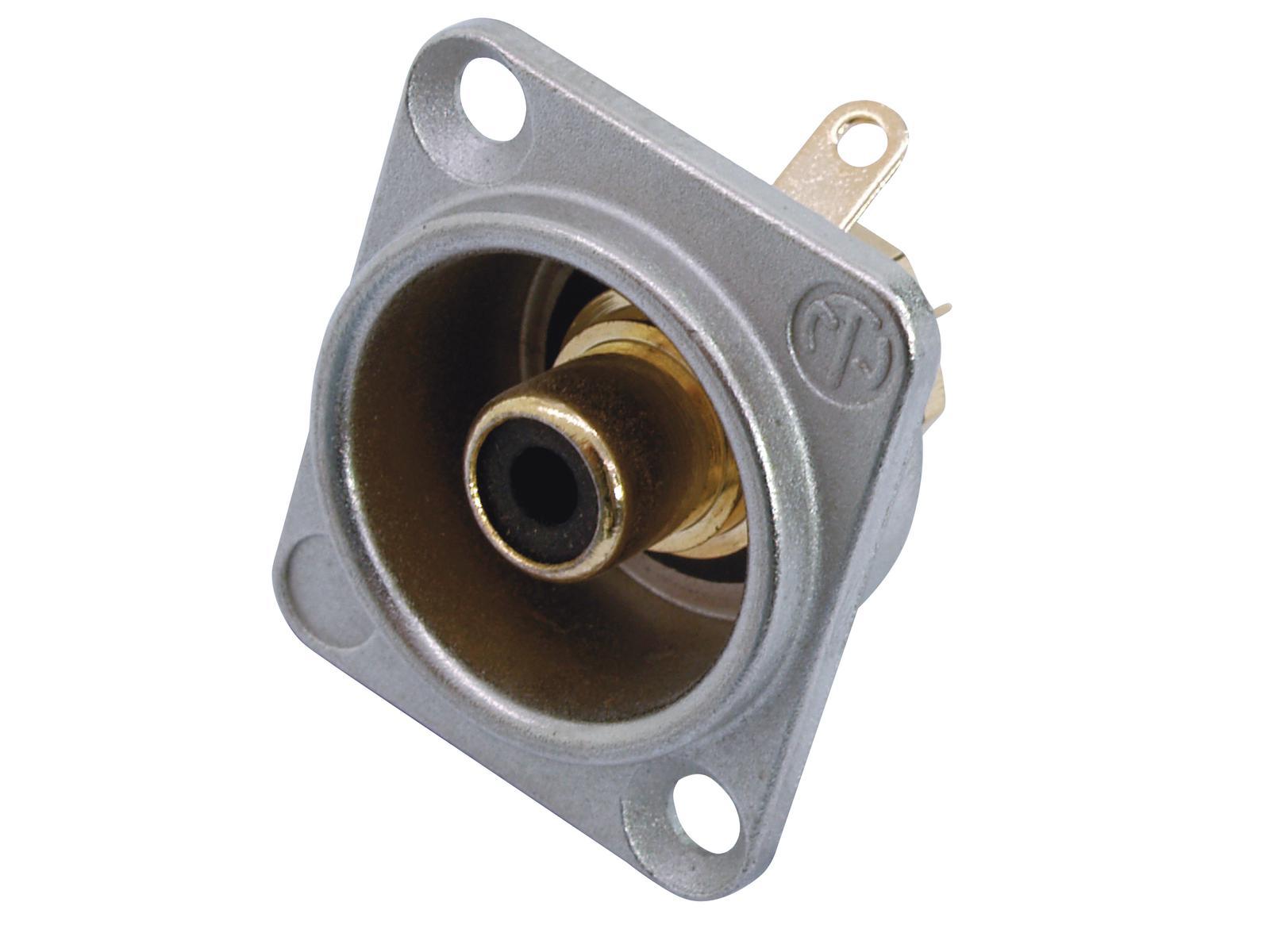 NEUTRIK RCA zoccolo di montaggio bk NF2D0