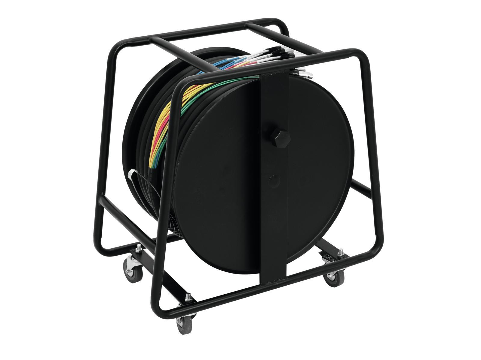 OMNITRONIC Multicore Stagebox 28/8 50m cavo bobina