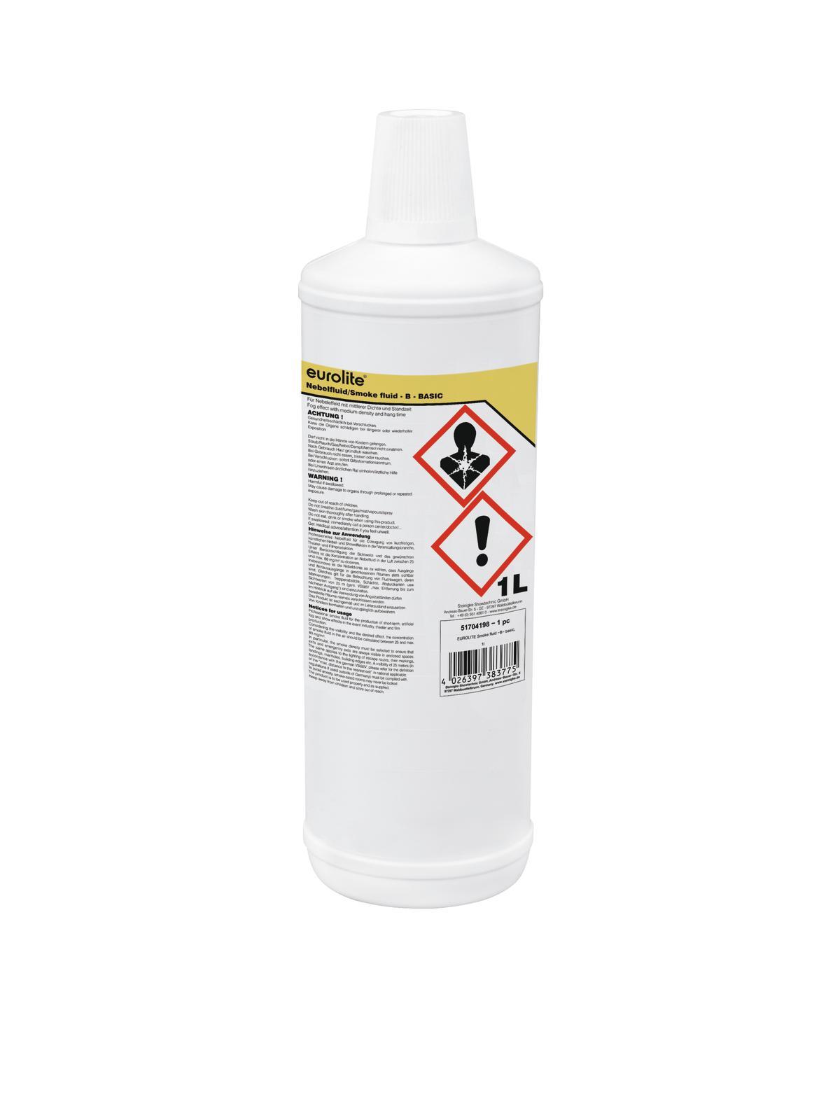 Liquido per macchina del fumo, 1 litro, EUROLITE