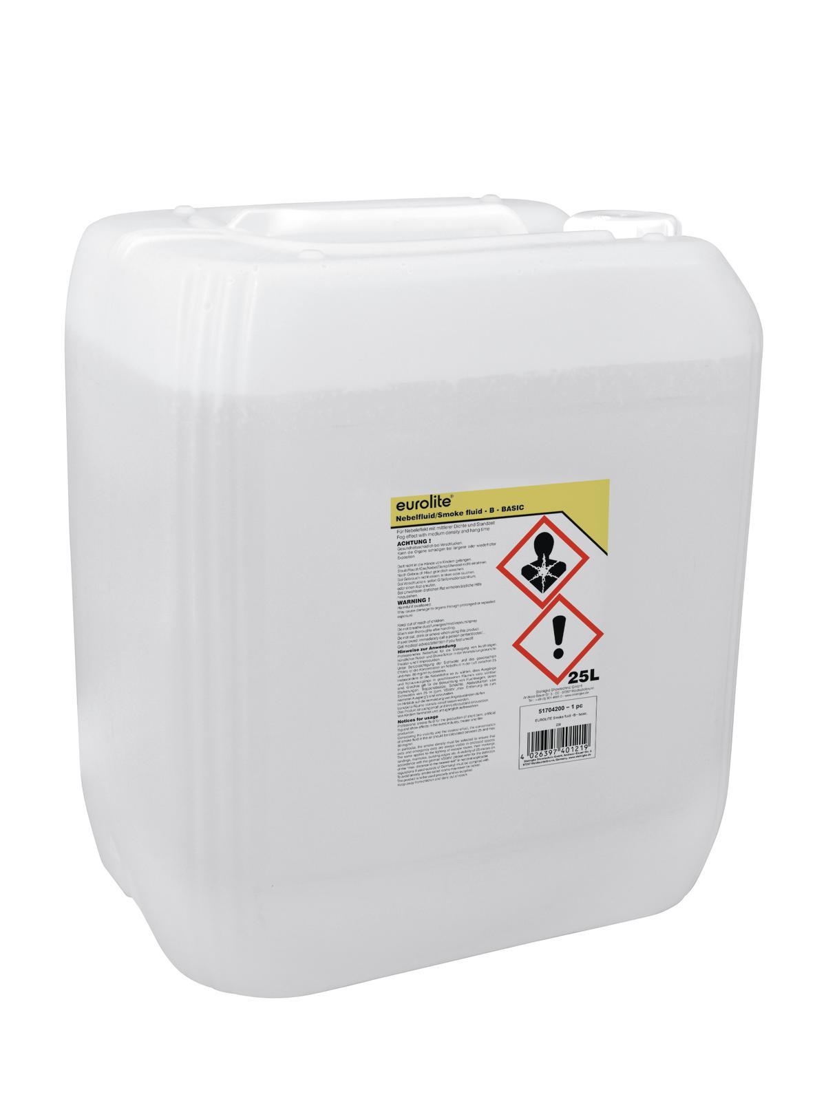 Liquido per macchina del fumo, 25 litri EUROLITE