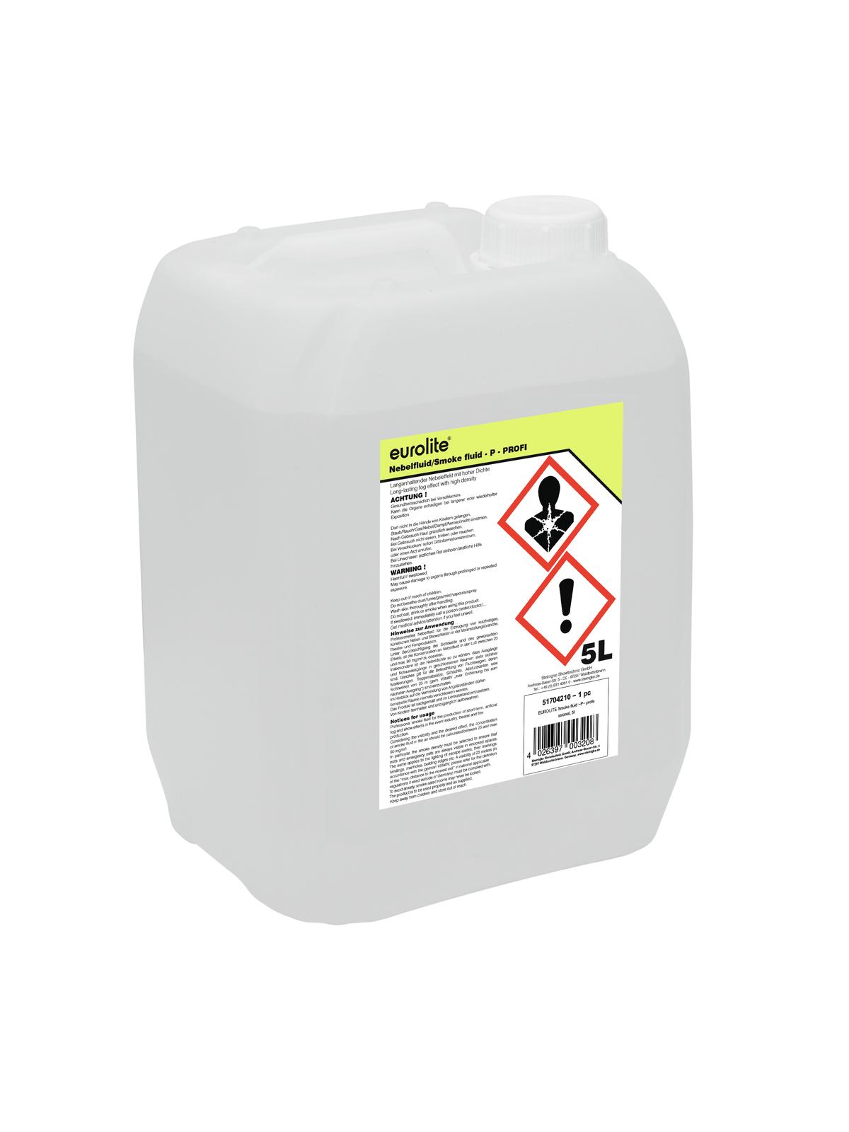Liquido per macchina del fumo, professionale, 5 litri EUROLITE