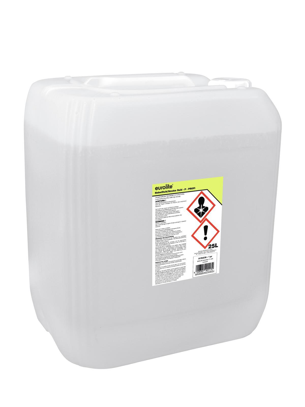 Liquido per macchina del fumo, professionale, 25 litri EUROLITE