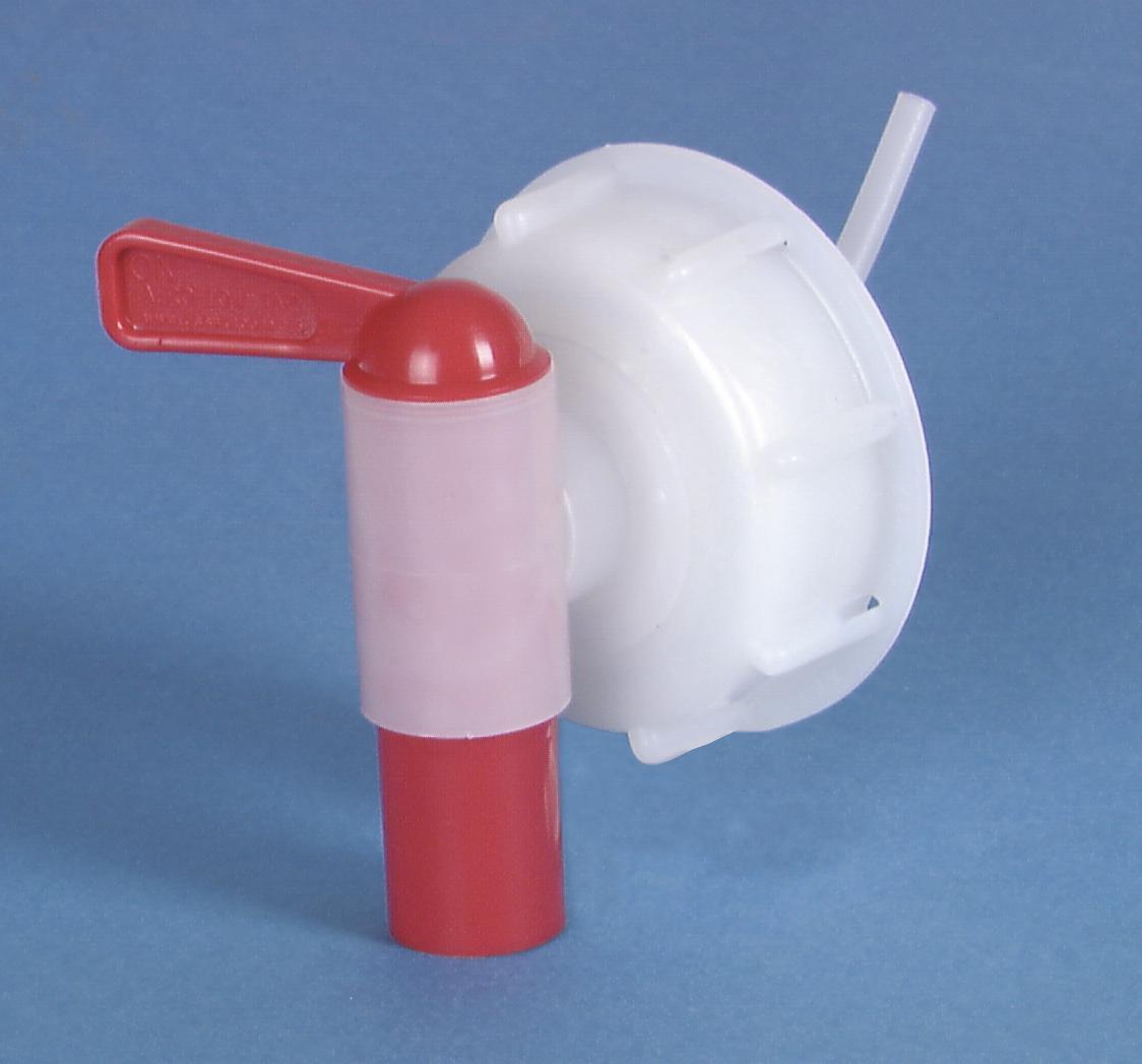Tappo con rubinetto per liquido adatto a serbatoio 25 e 30 litri EUROLITE