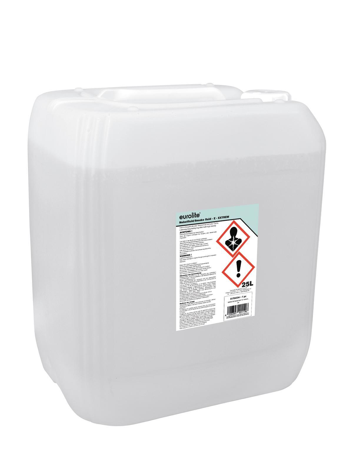 Liquido per macchina del fumo, estremo, 25 litri, EUROLITE