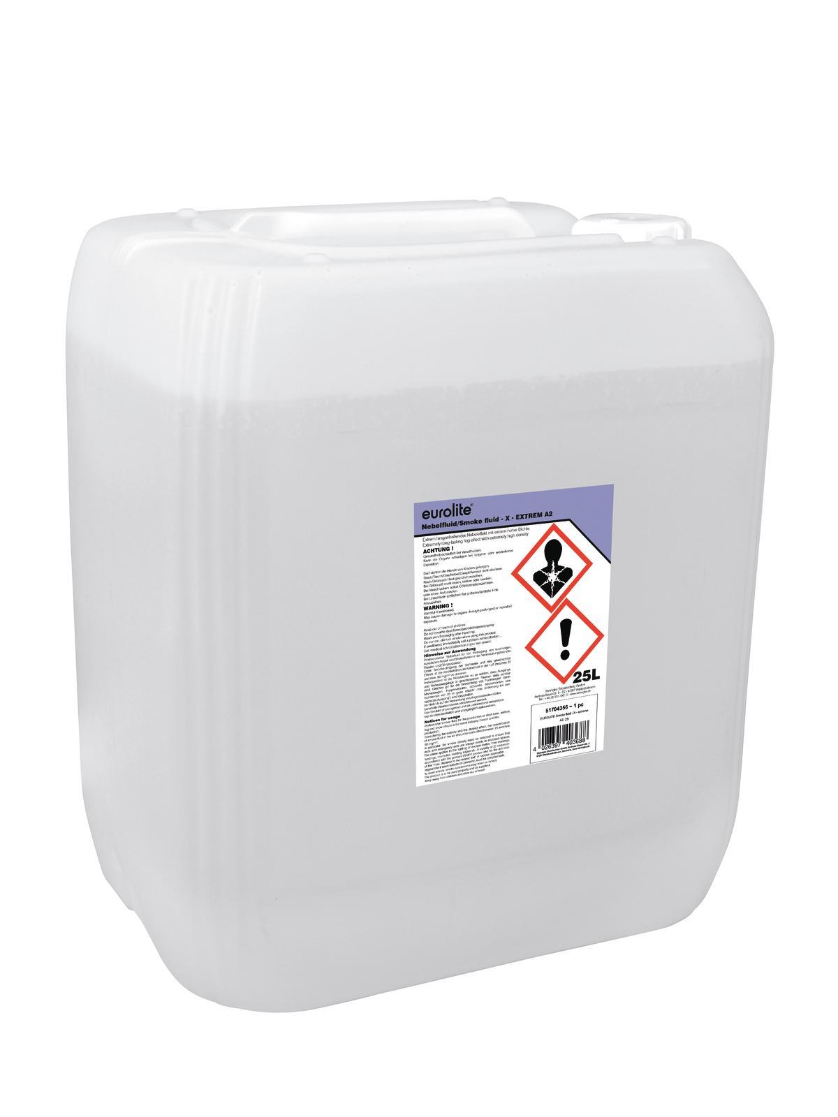 Liquido per macchina del fumo, 25 litri, EUROLITE extreme A2