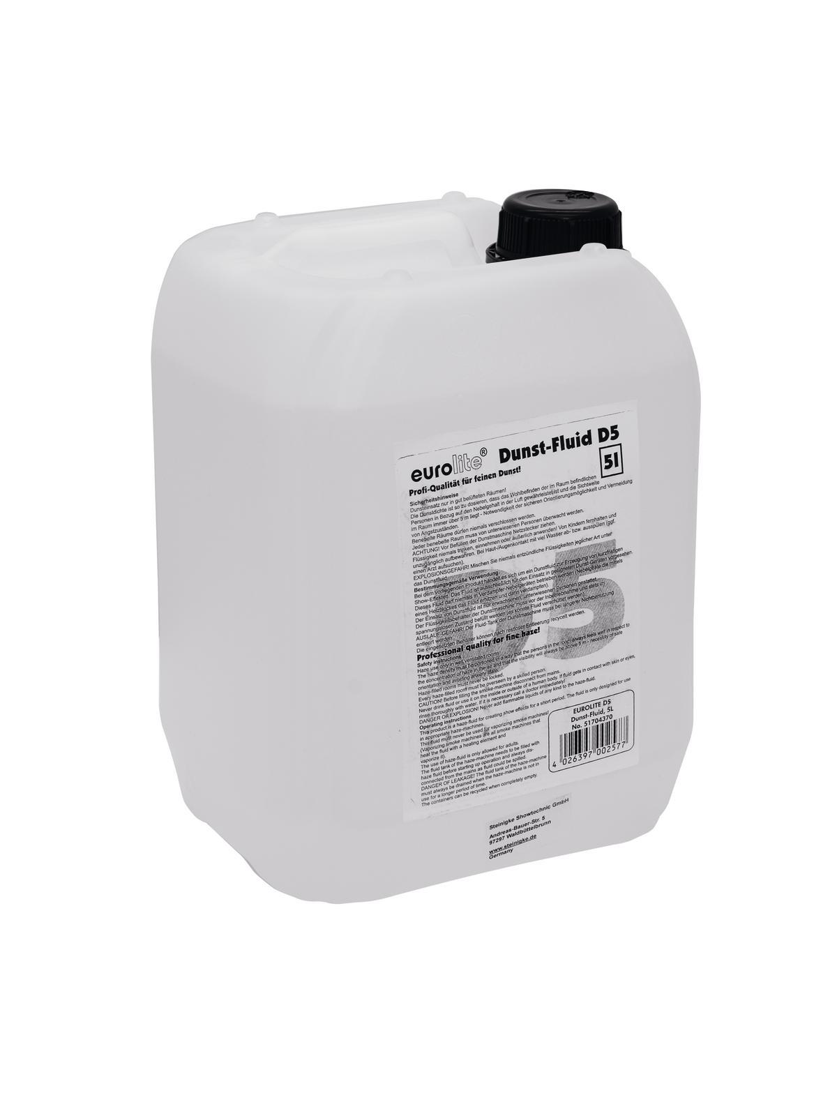 EUROLITE D-5 Dunst-Fluid 5 Liter für Hazer