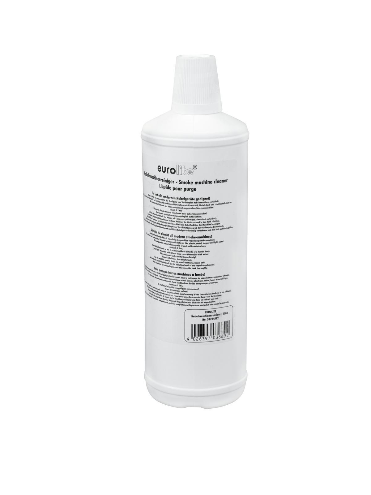 Liquidox  per pulizia macchina del fumo, 1 Litro, EUROLITE