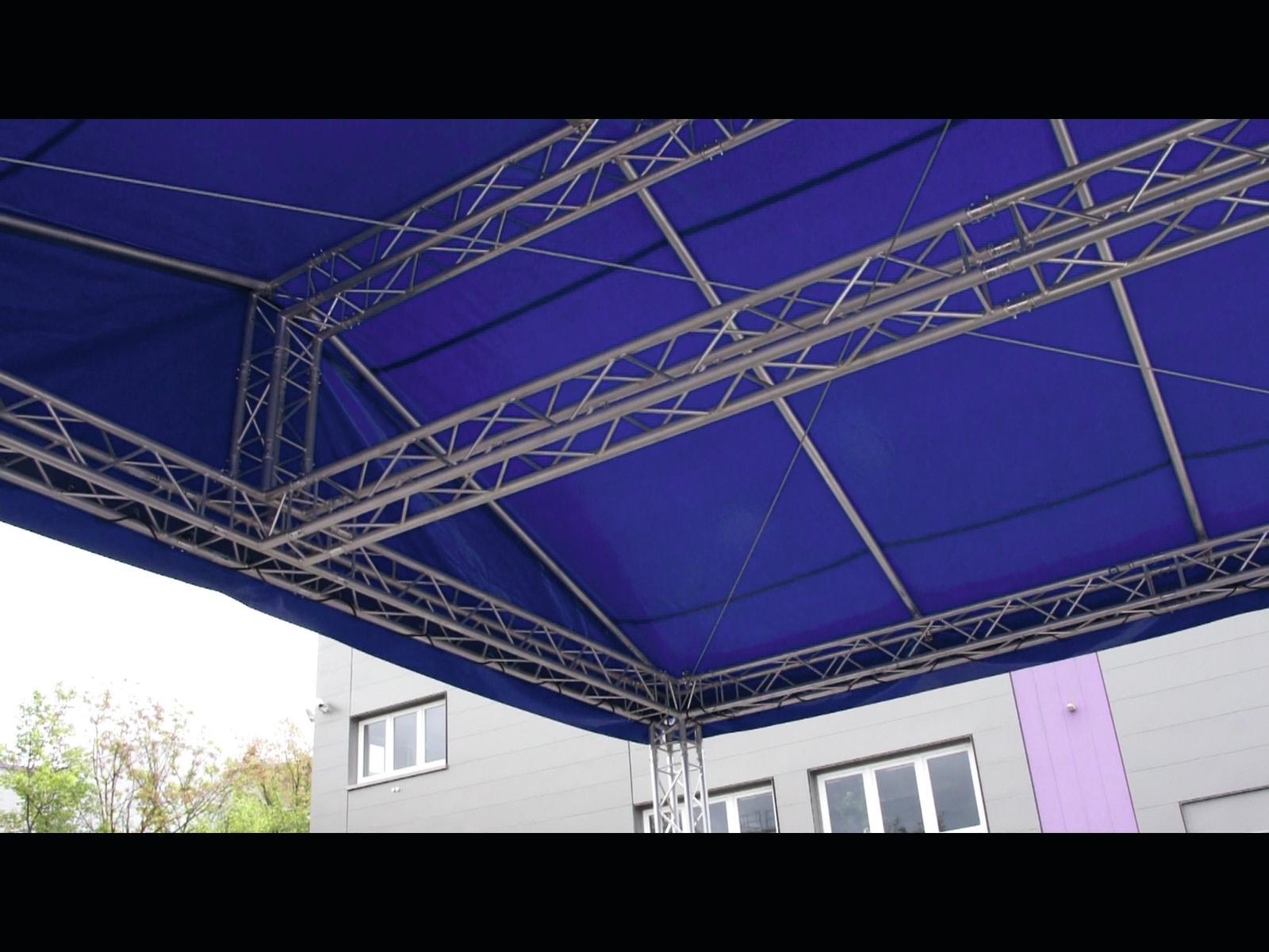 ALUTRUSS Roofbar per Alutruss Sistema 77-6