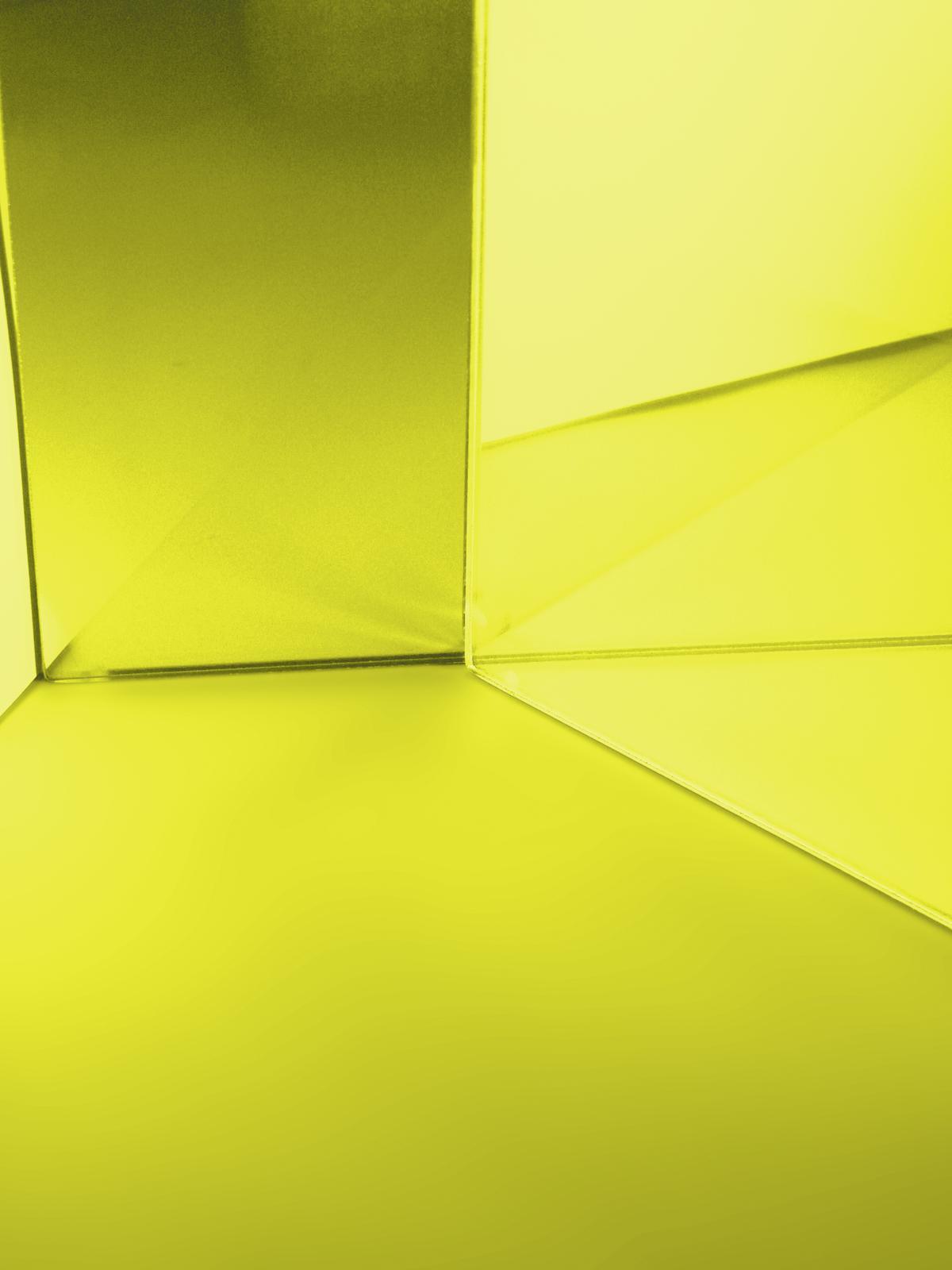 EUROLITE Filtro Dichro di colore giallo chiaro, 195x191mm