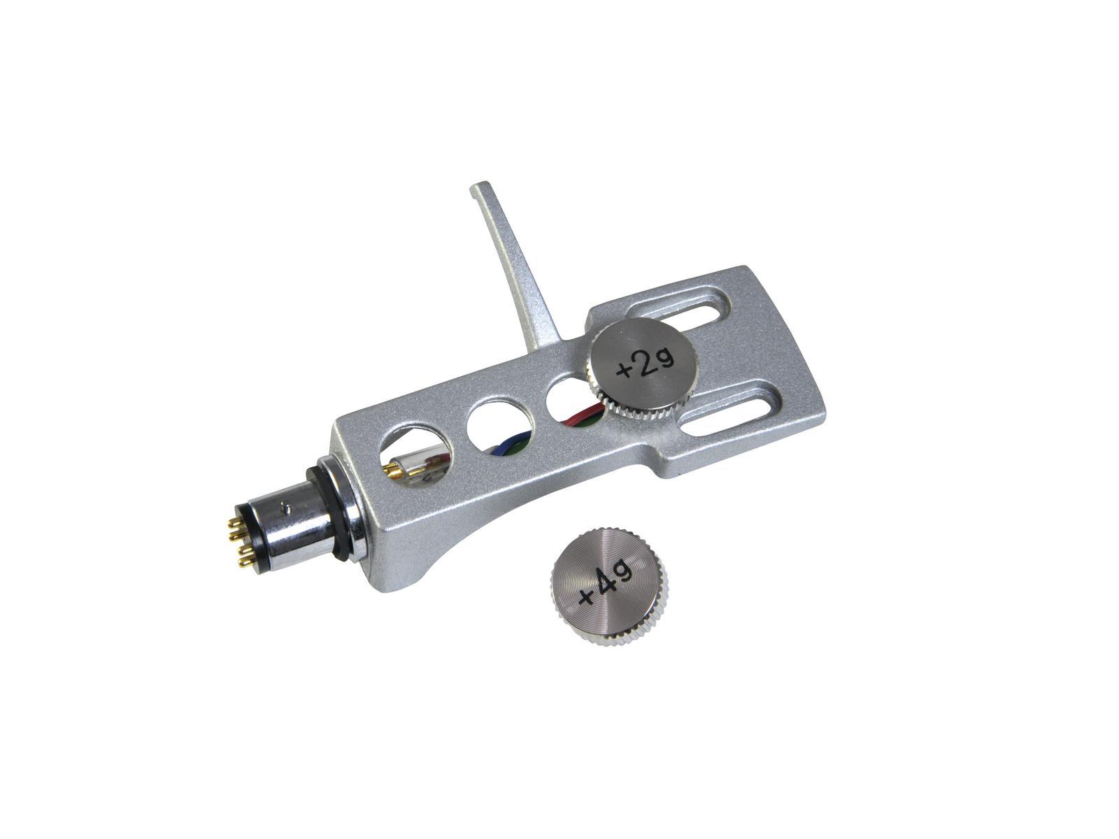 OMNITRONIC Headshell Systemträger mit Gewicht sil