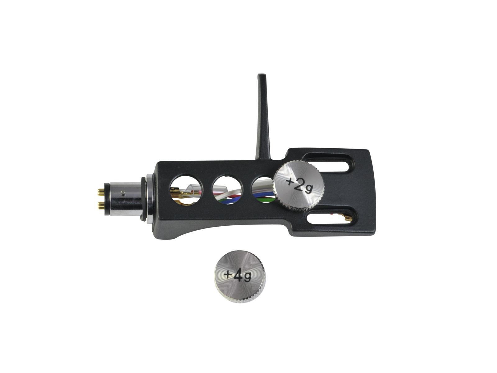 OMNITRONIC Headshell Systemträger mit Gewichten sw