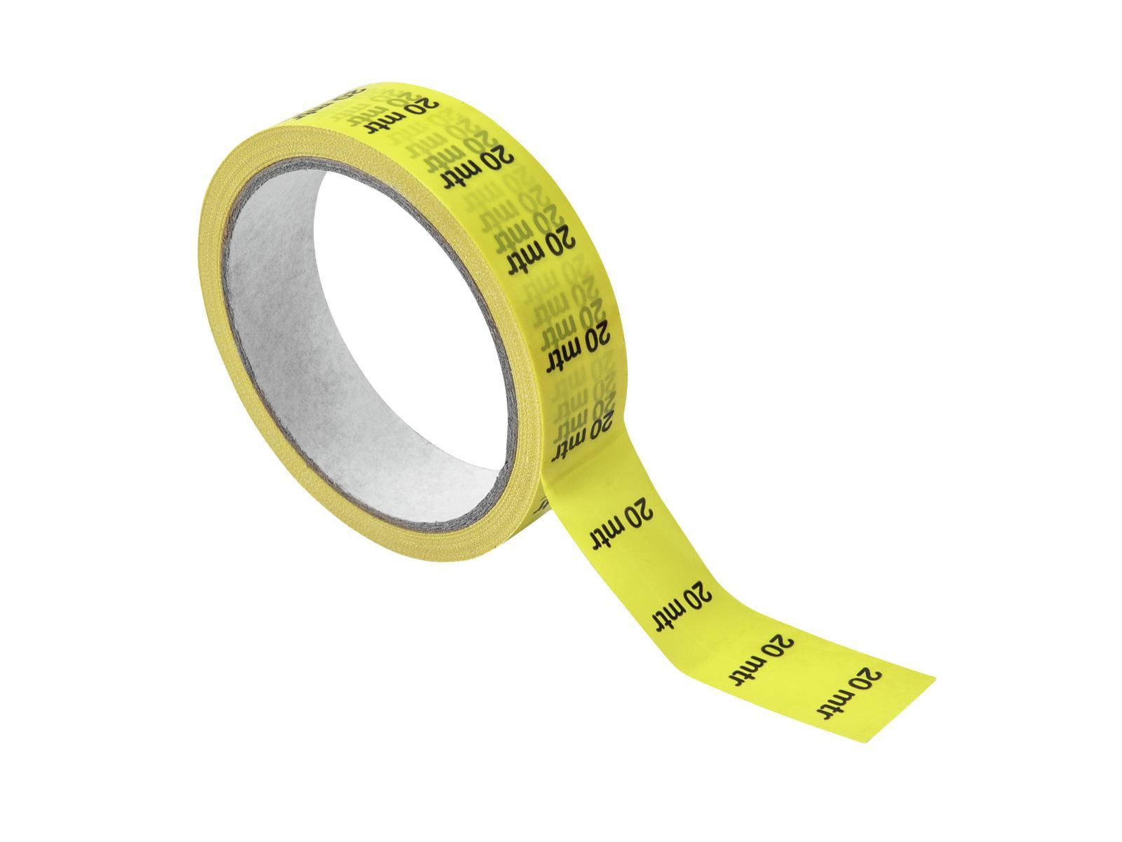 ACCESSORY Kabelmarkierung 20m, gelb