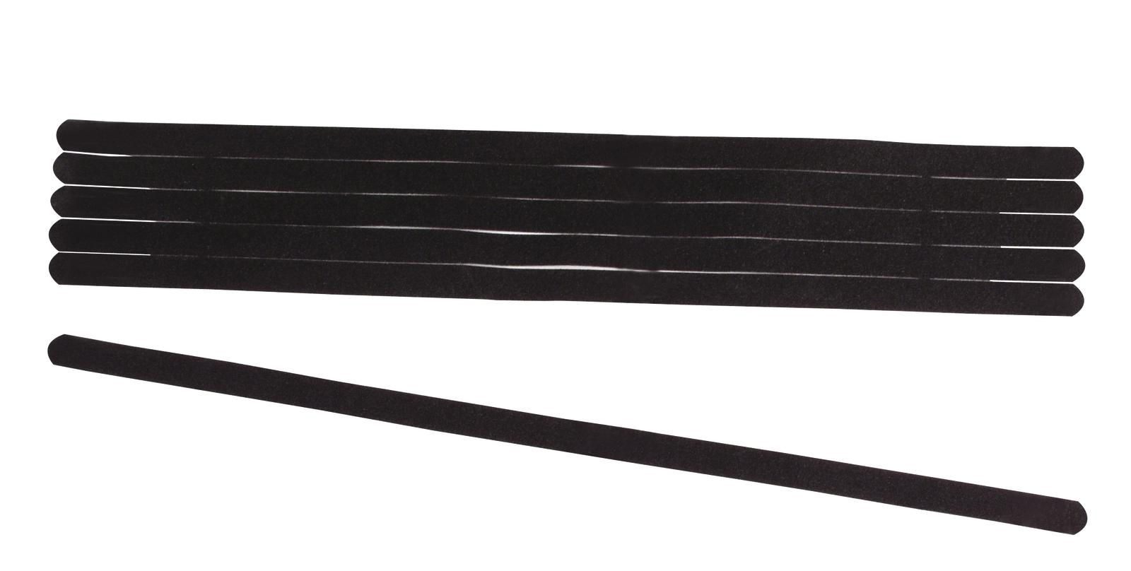 ACCESSORY Antirutsch-Strips schwarz