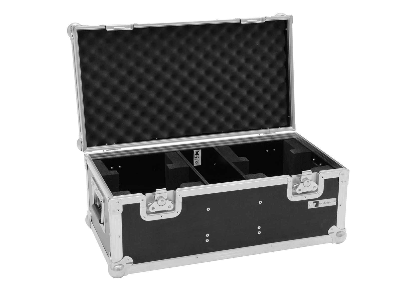 Flight case Per Il Trasporto Di Effetti Luci Cavi Fari 2x THA-40 PC ROADINGER