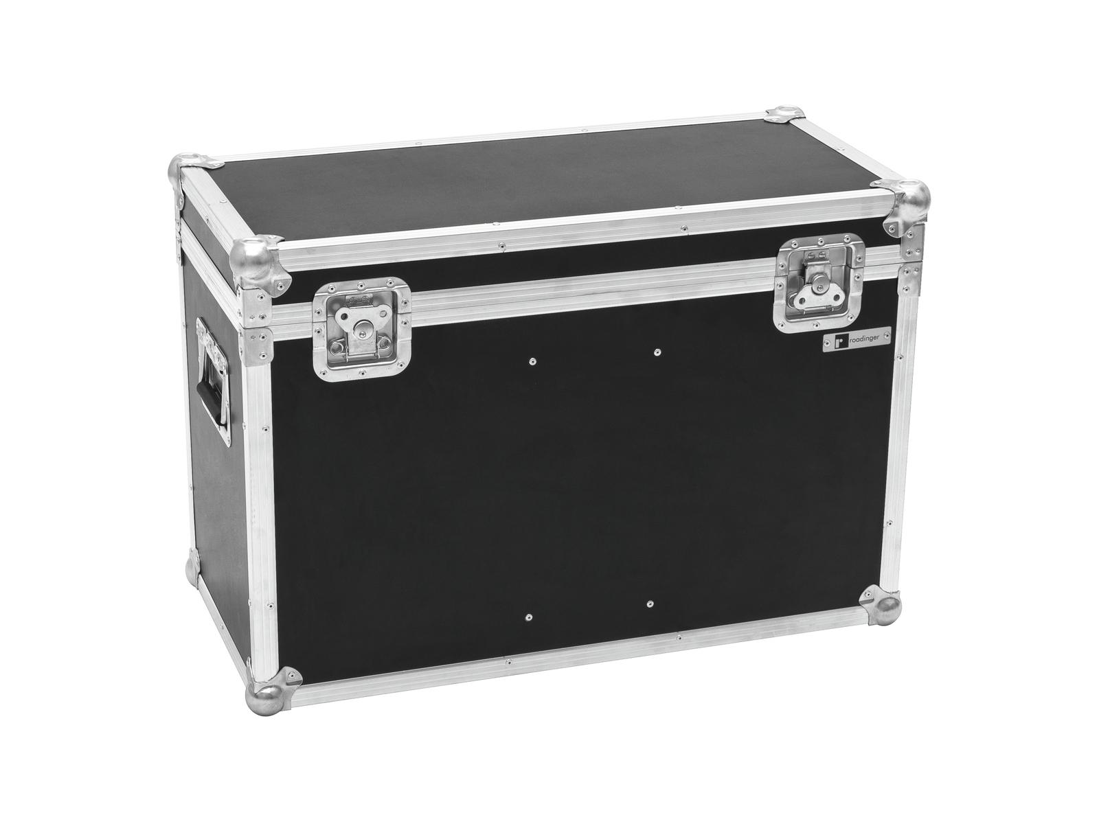 ROADINGER Flightcase 2x LED THA-100F/THA-120PC