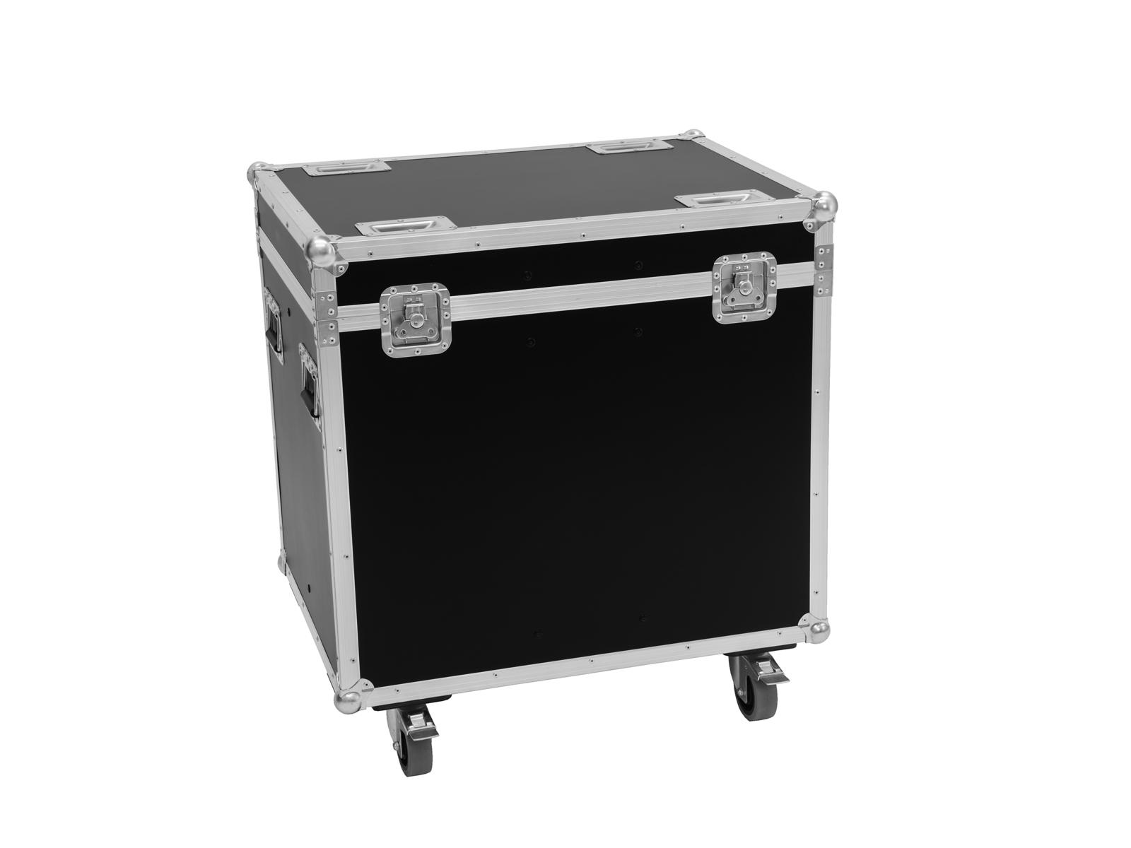 ROADINGER Flightcase 4x LED PF