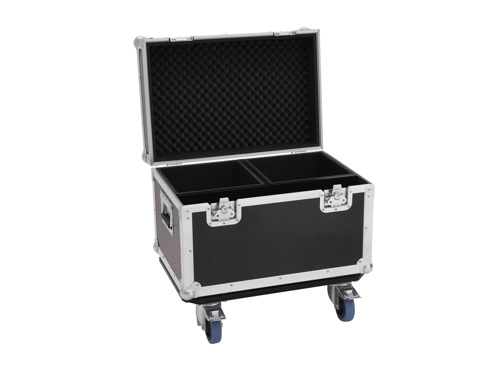 ROADINGER Flightcase PRO 2x Spark Master mit Rollen