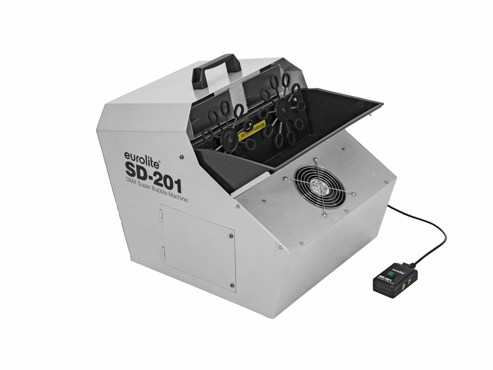 EUROLITE SD-201 DMX Super-Seifenblasenmaschine