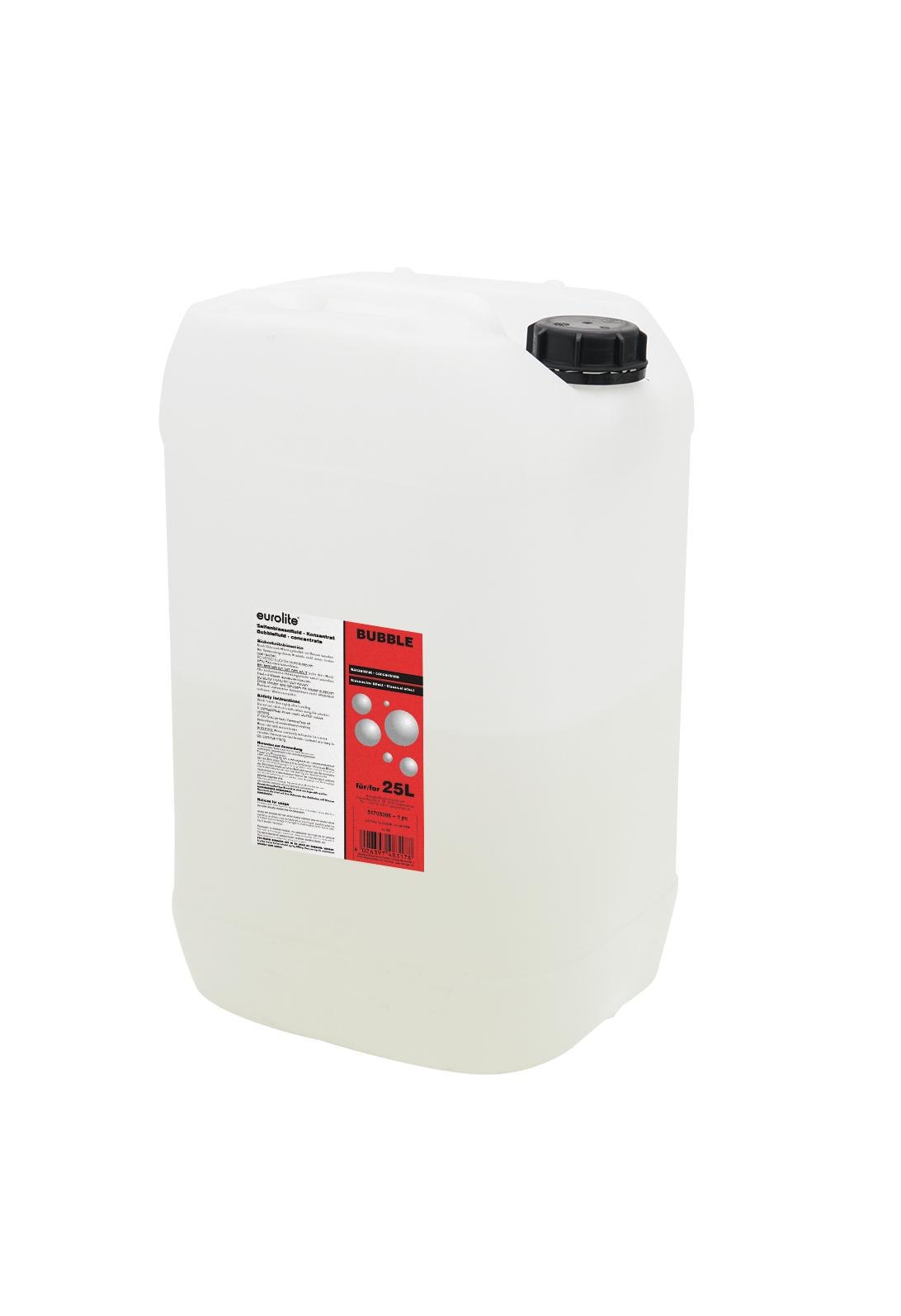 Liquido concentrato per macchina delle bolle di sapone 25 litri, EUROLITE