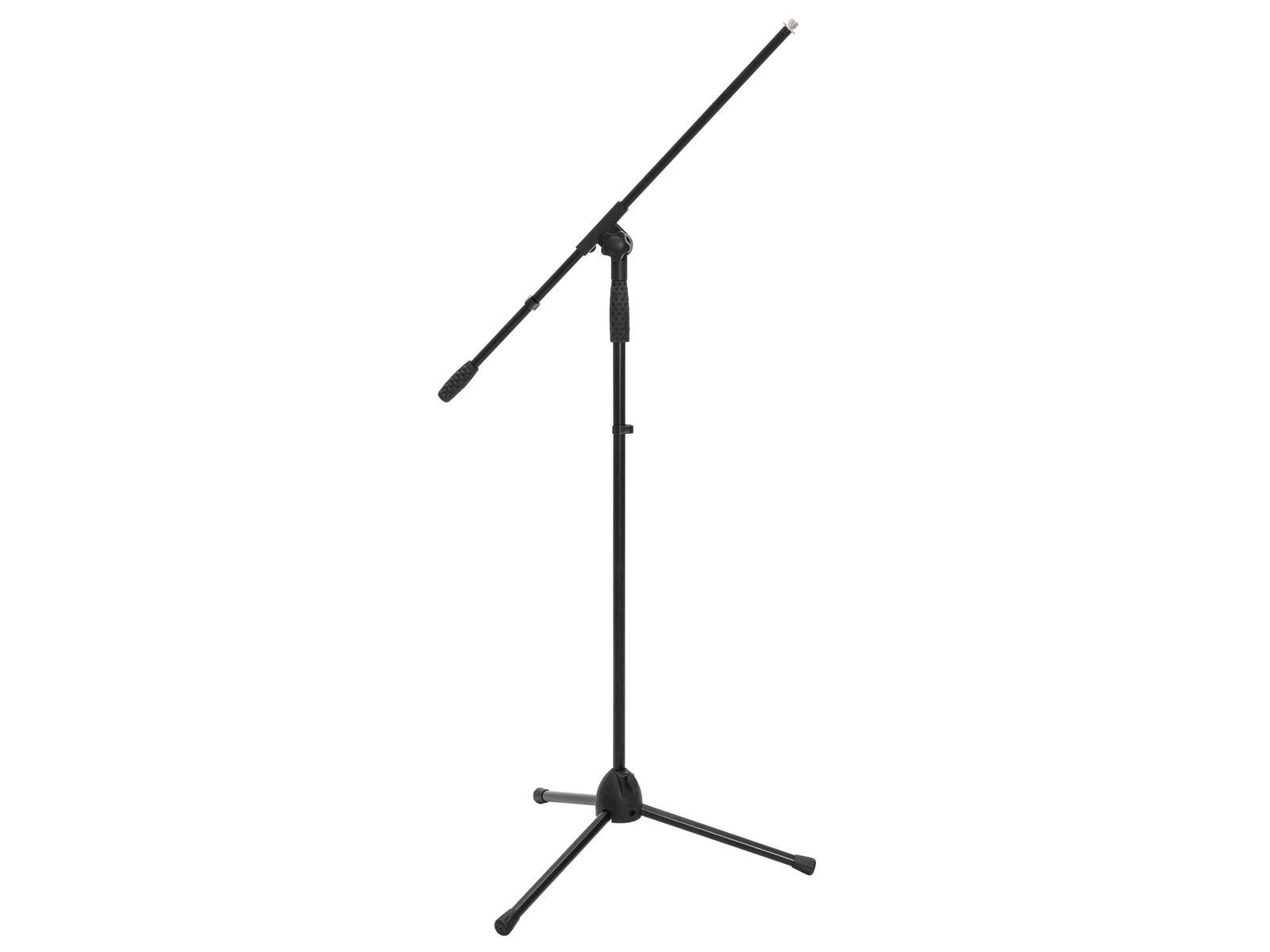 OMNITRONIC Microfono treppiede MS-2A con boom bk